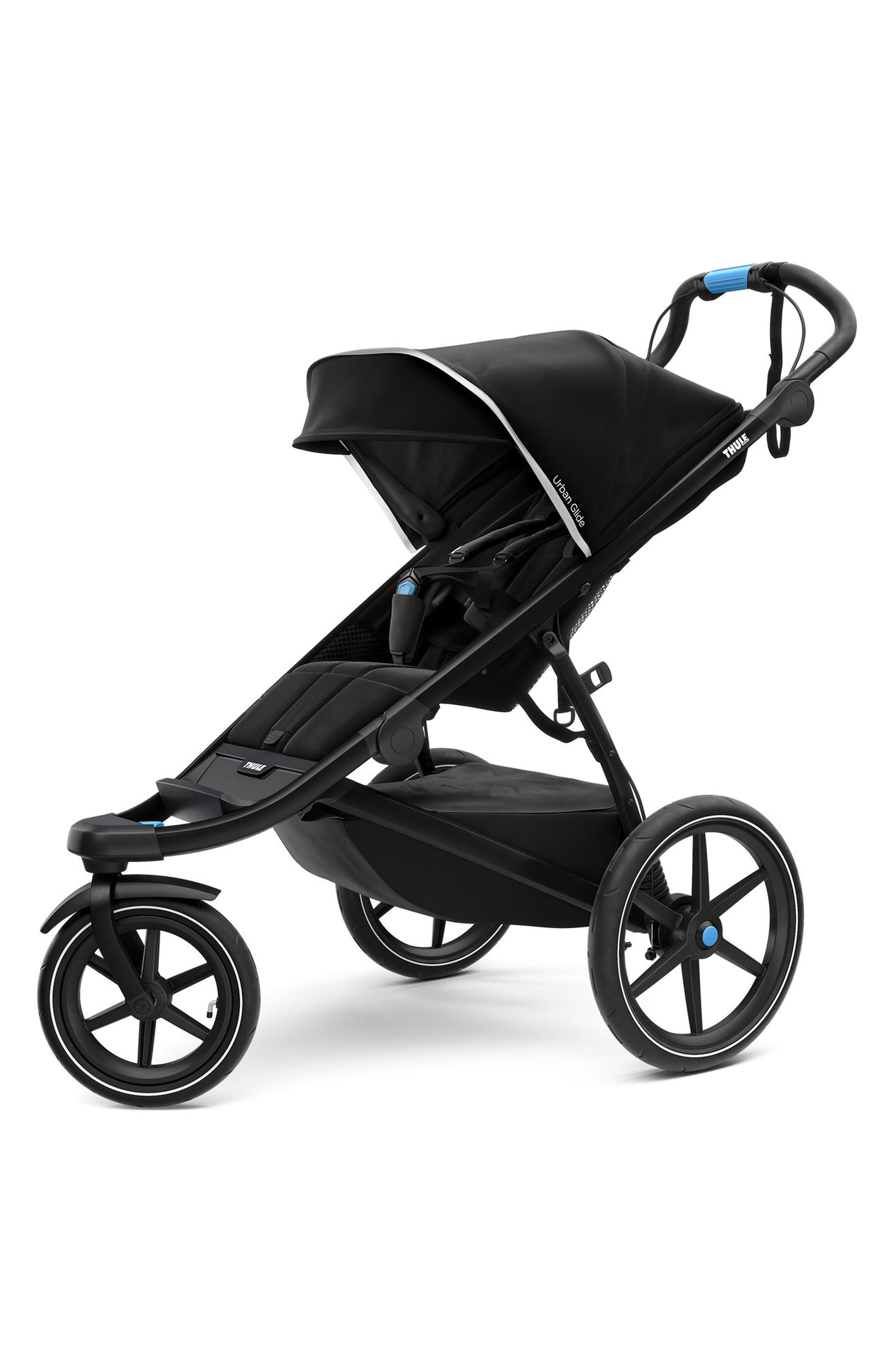 THULE,                             Urban Glide 2 Jogging Stroller with Black Frame,                             Main thumbnail 1, color,                             006