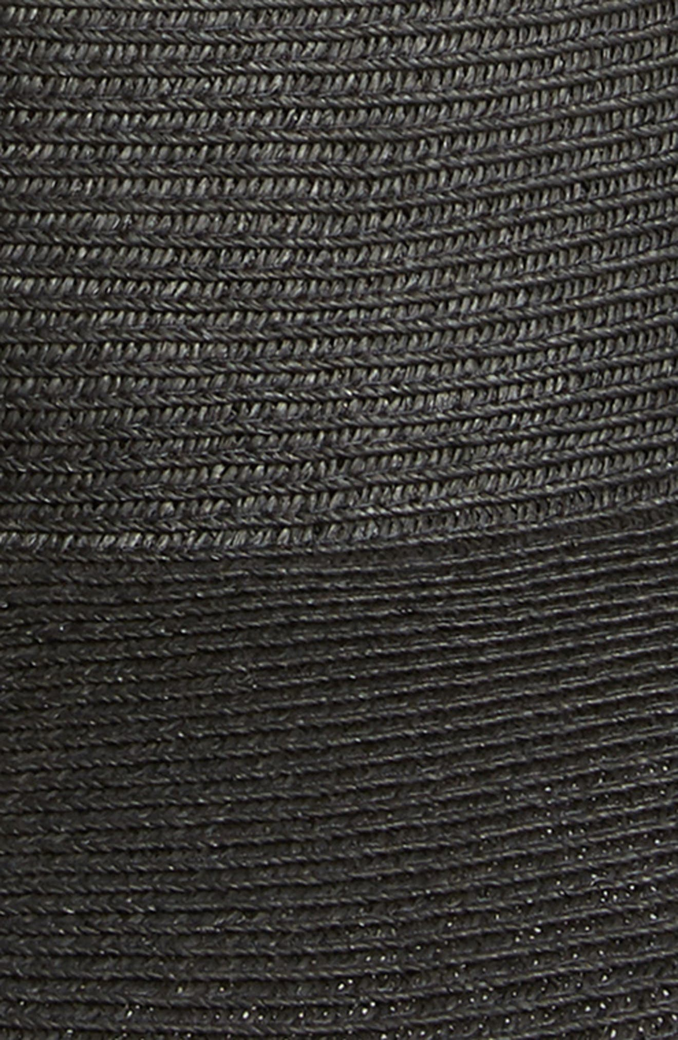 Ultrabraid XL Brim Hat,                             Alternate thumbnail 2, color,                             BLACK