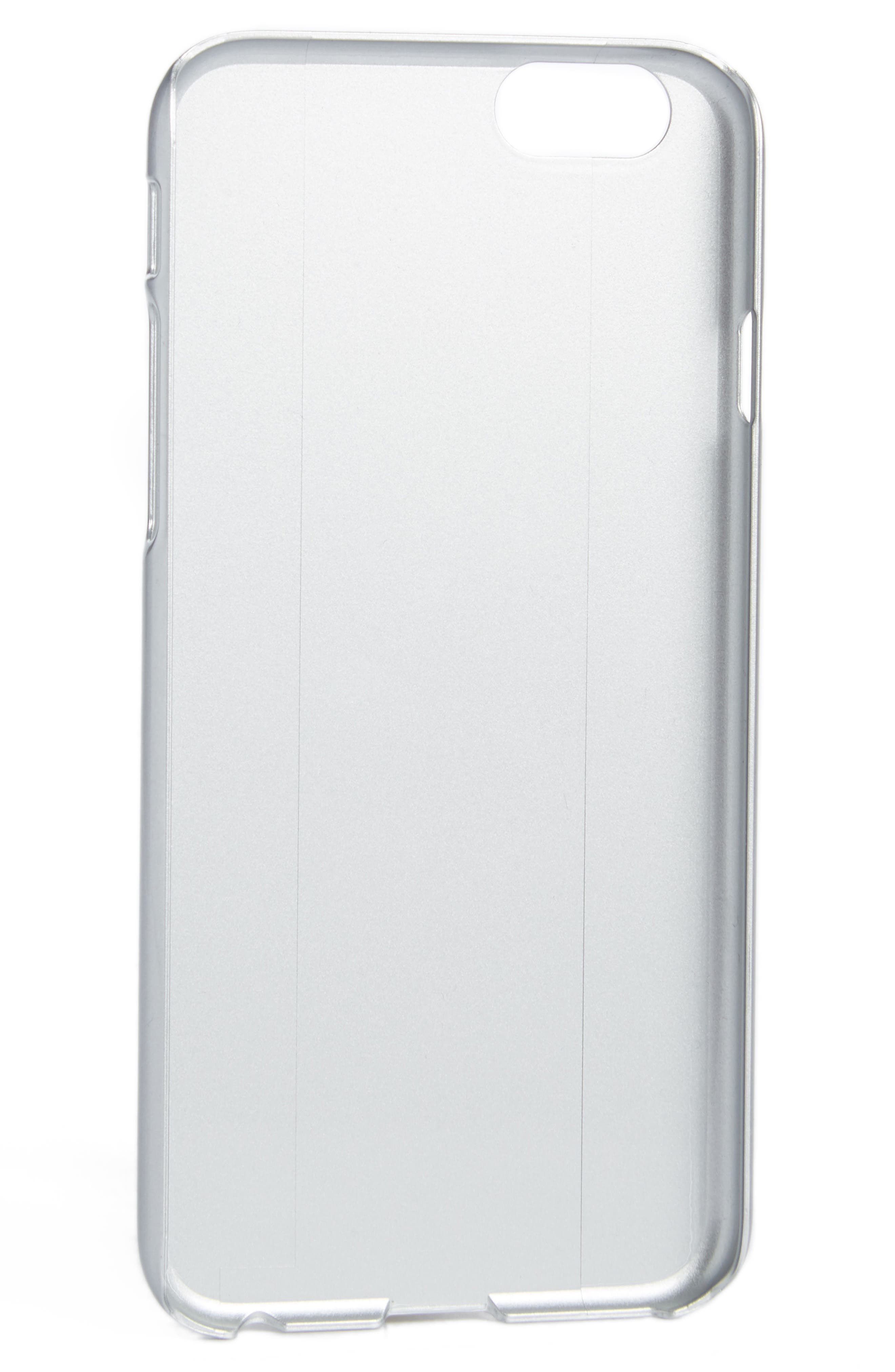 Tiger iPhone 7 Case,                         Main,                         color, SILVER