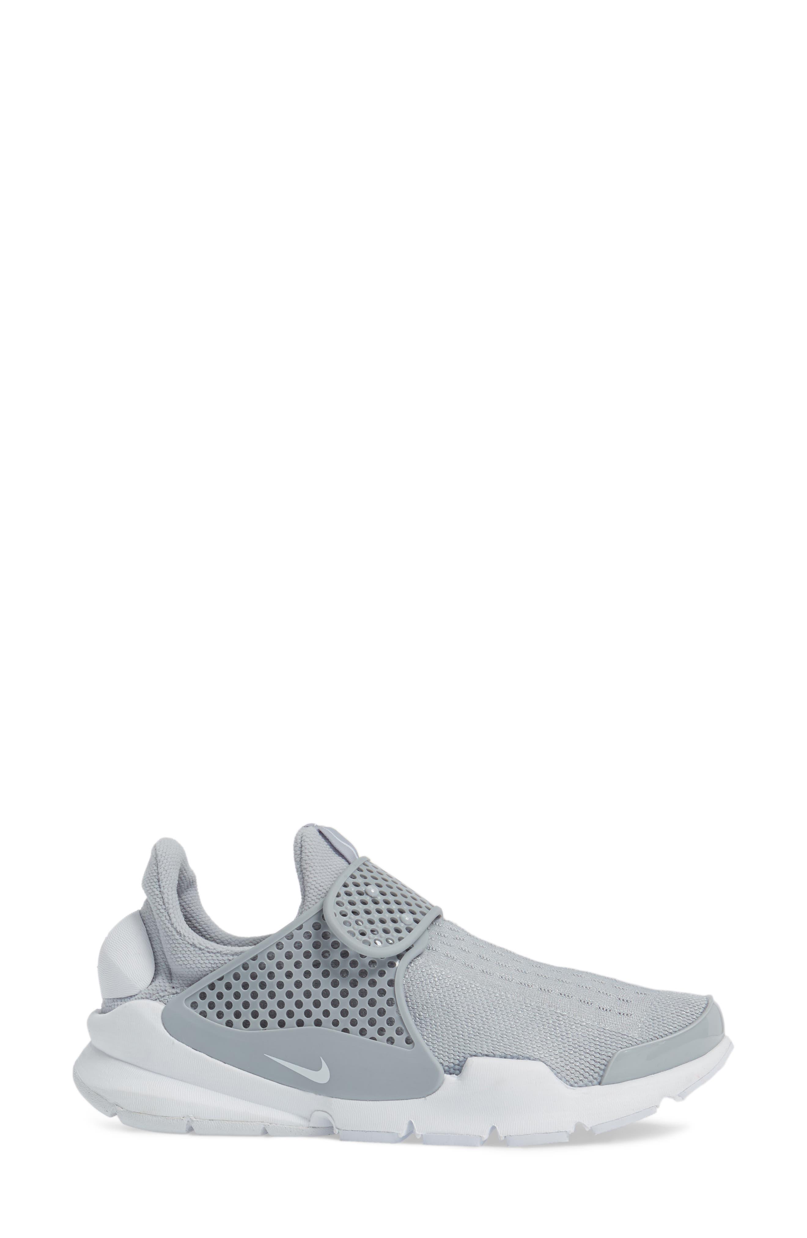 Sock Dart Sneaker,                             Alternate thumbnail 3, color,                             020