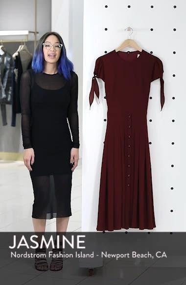 Bette Pleated Midi Dress, sales video thumbnail
