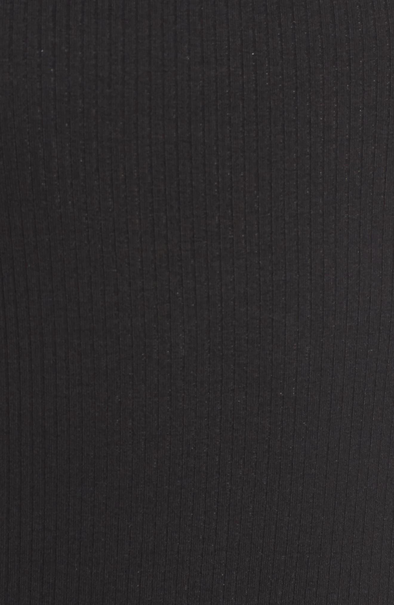 Soto Thong Bodysuit,                             Alternate thumbnail 5, color,                             001