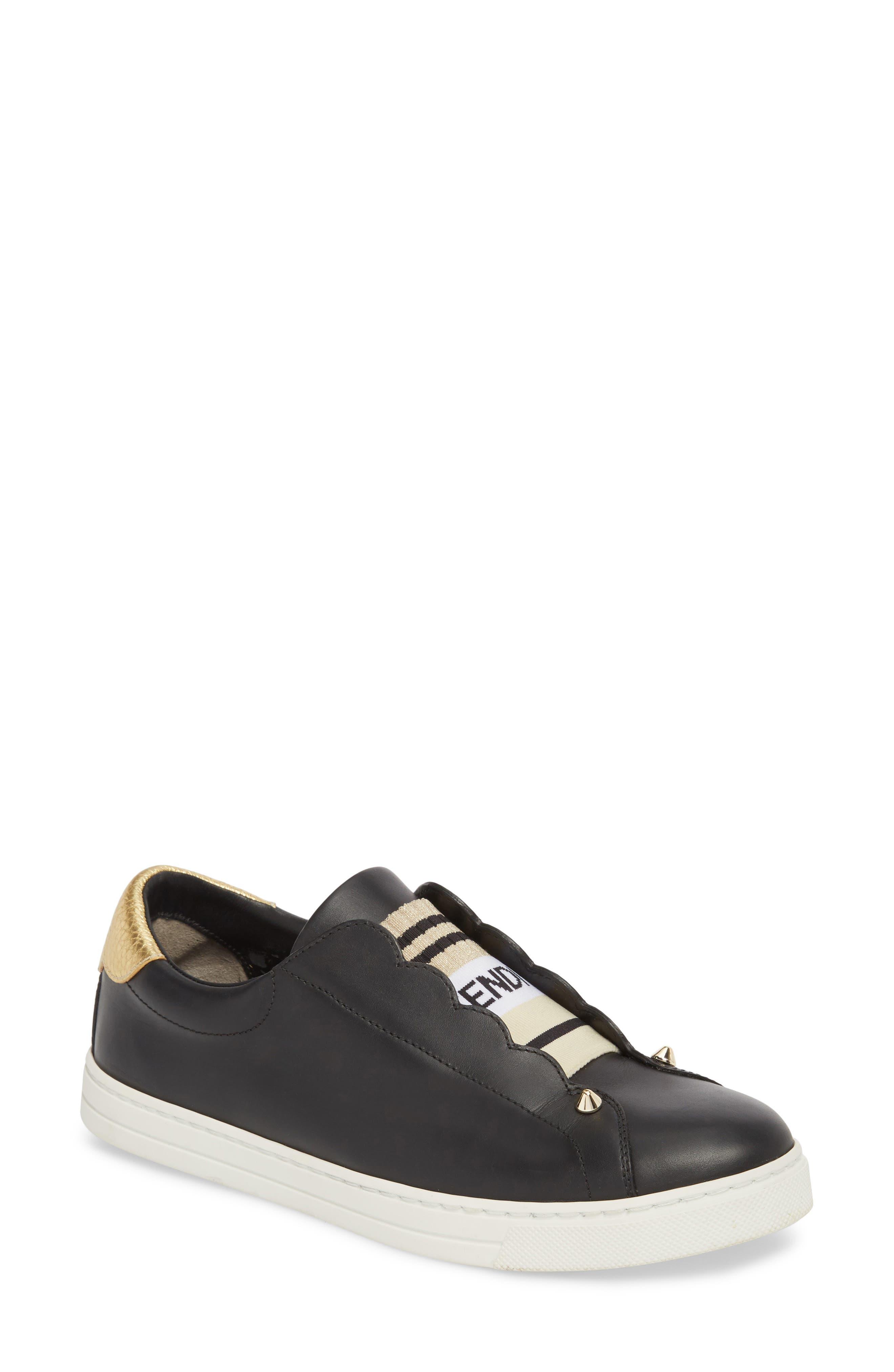 Rockoclick Slip-On Sneaker,                         Main,                         color, BLACK