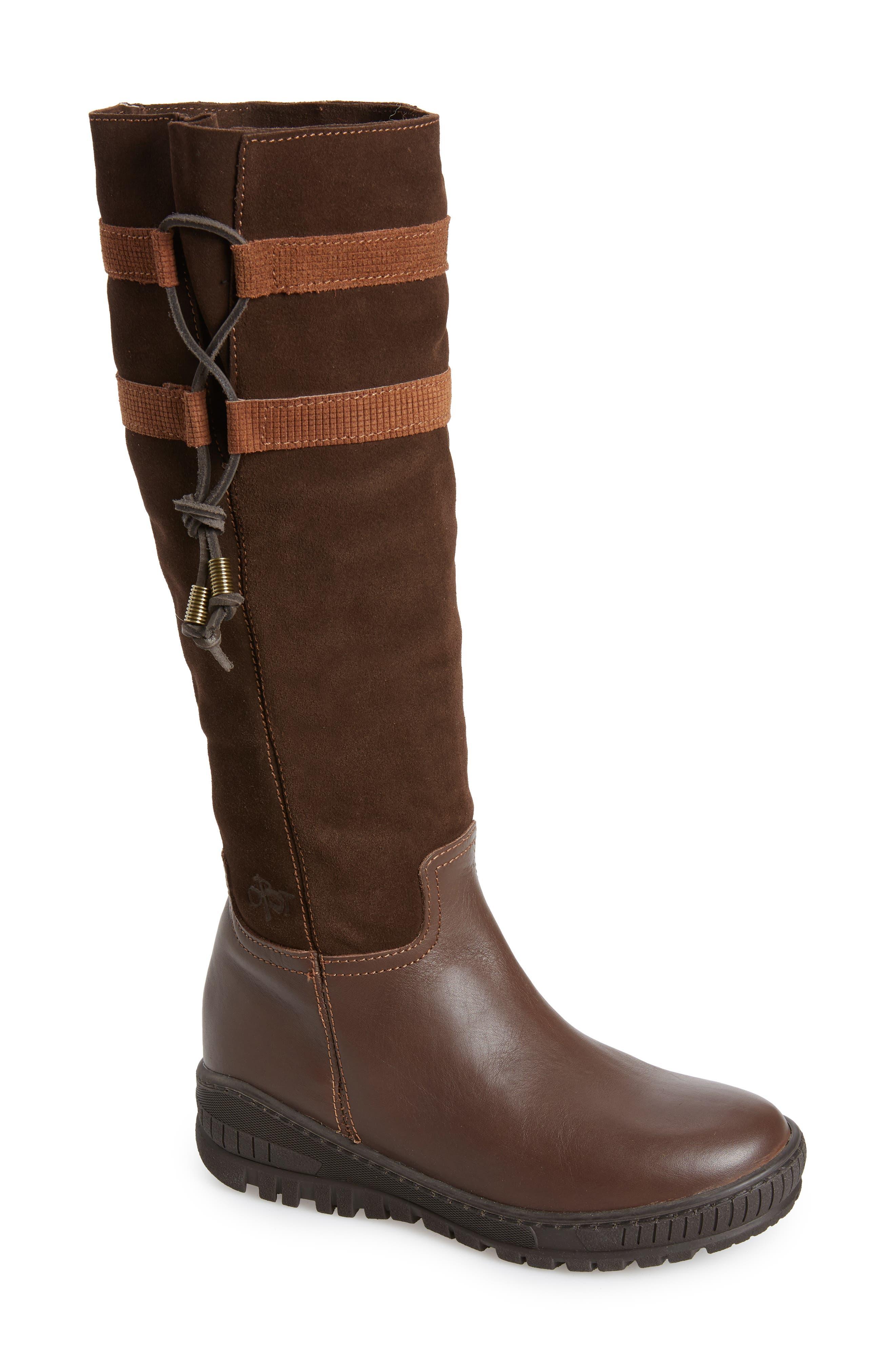 Otbt Move On Knee High Boot, Brown