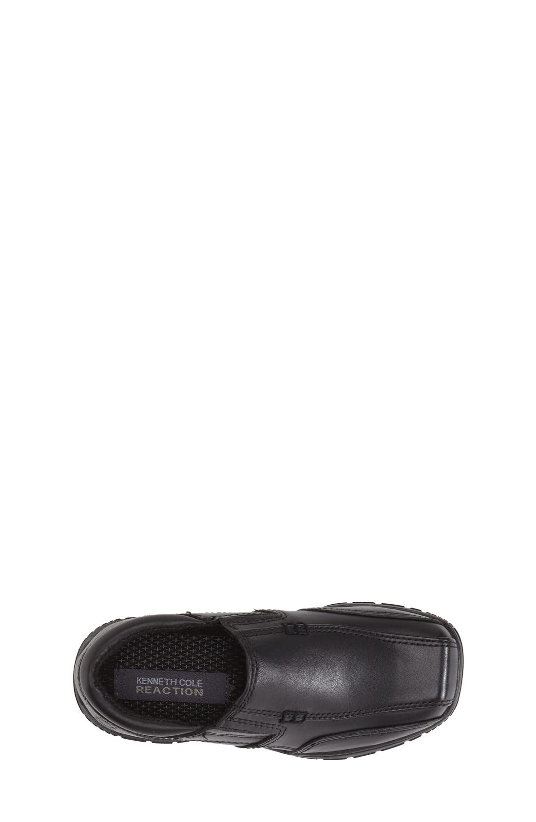 Reaction Kenneth Cole'Check N Check' Loafer,                             Alternate thumbnail 3, color,                             001