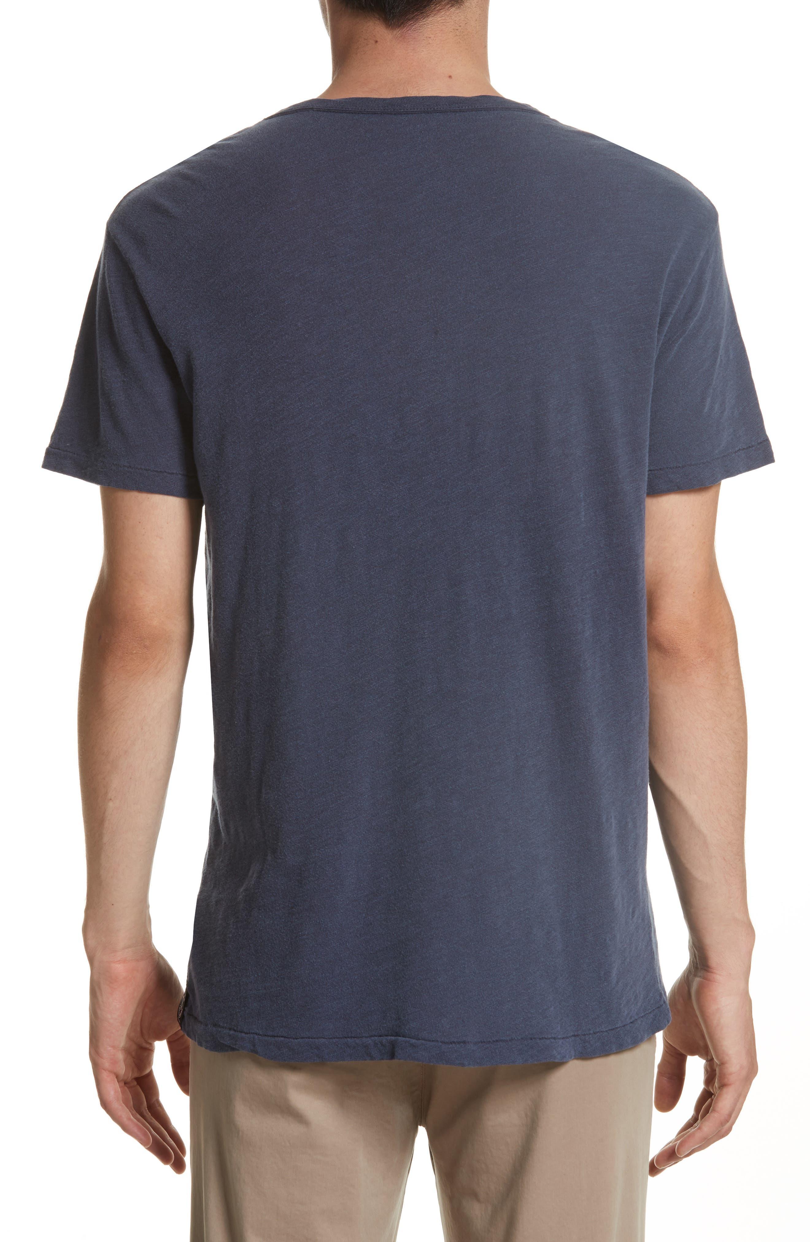 'Classic' Pocket T-Shirt,                             Alternate thumbnail 6, color,