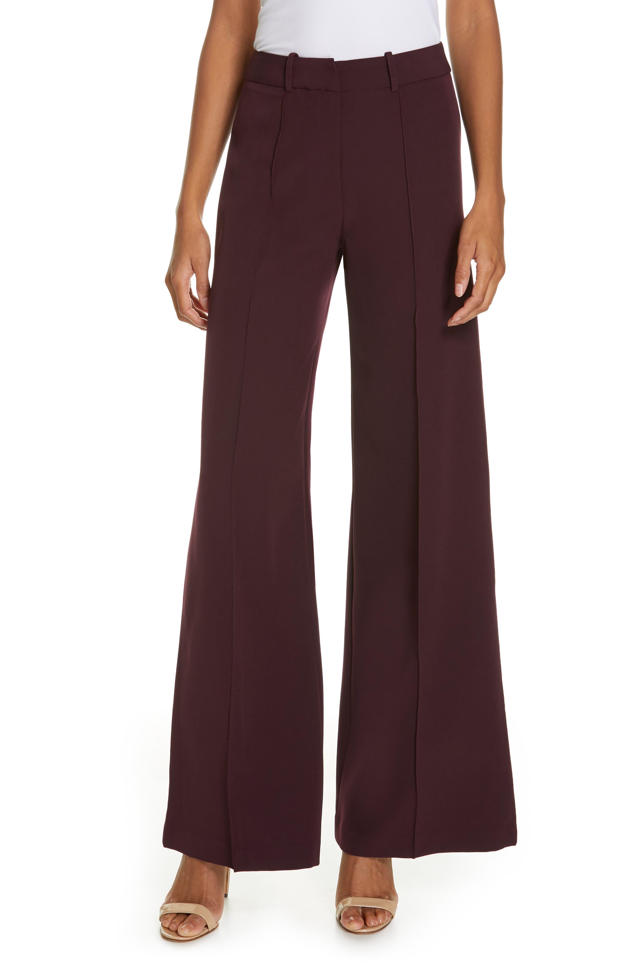 Hayden Seam Front Wide Leg Pants, Main, color, 400