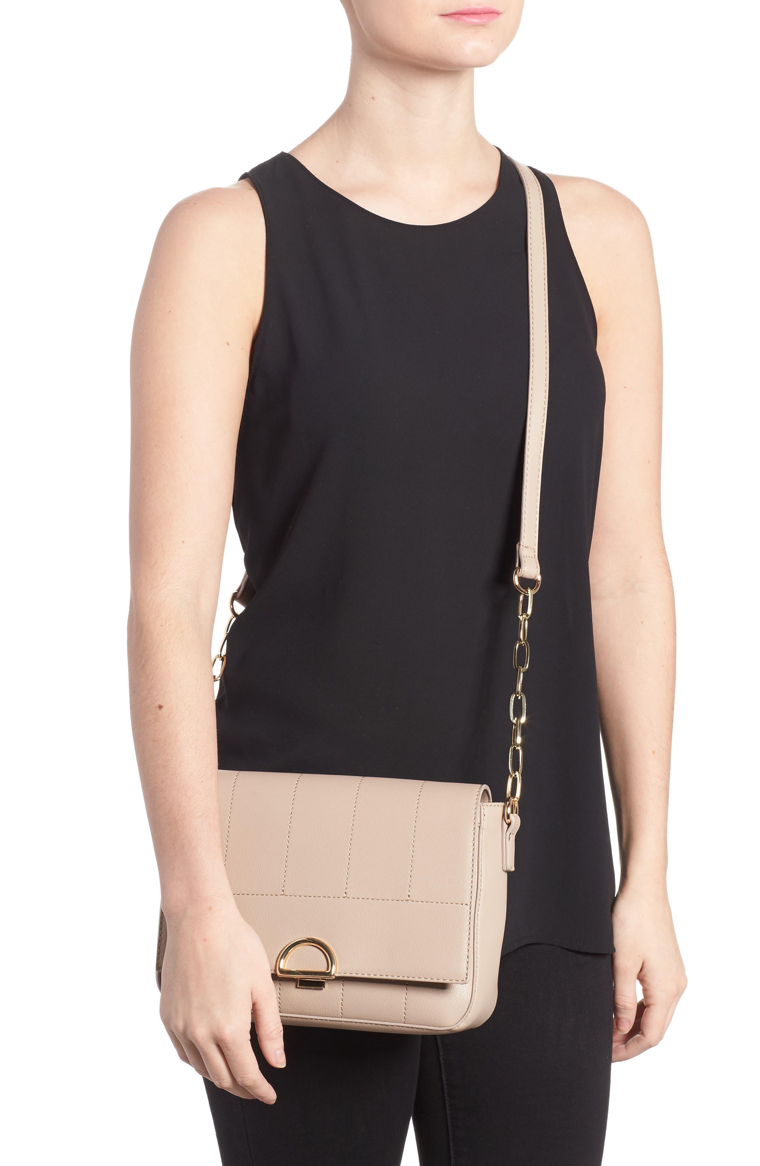 Colie Faux Leather Crossbody Bag,                             Alternate thumbnail 5, color,