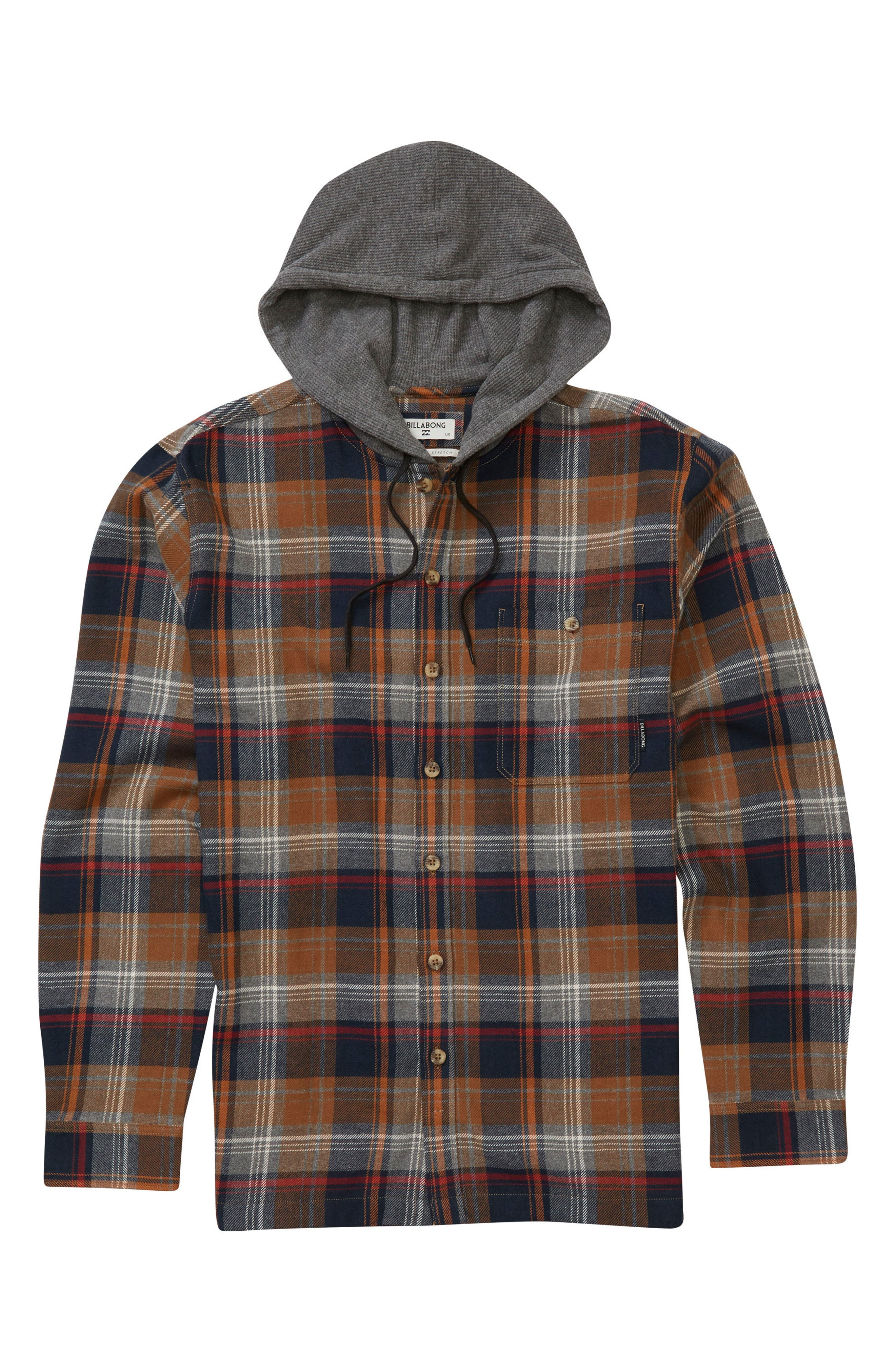 Baja Hooded Shirt,                             Main thumbnail 2, color,