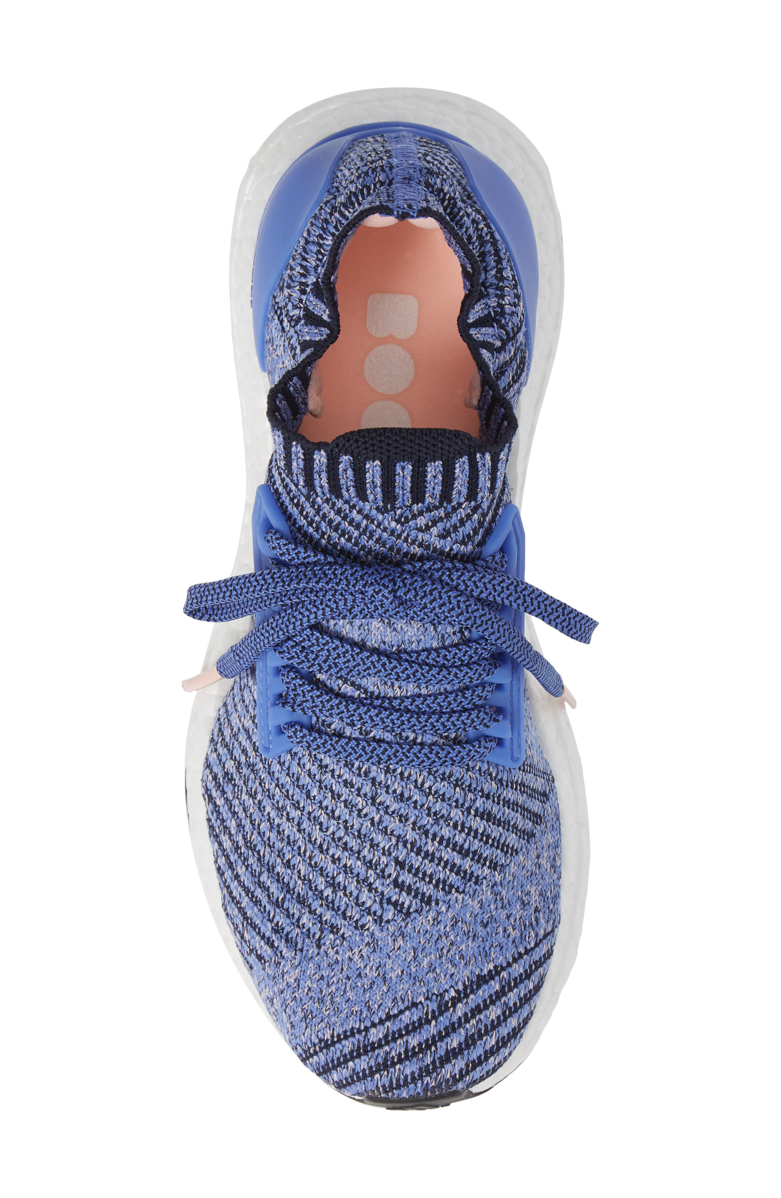 UltraBoost X Running Shoe,                             Alternate thumbnail 5, color,                             REAL LILAC/ LEGEND INK/ BLACK