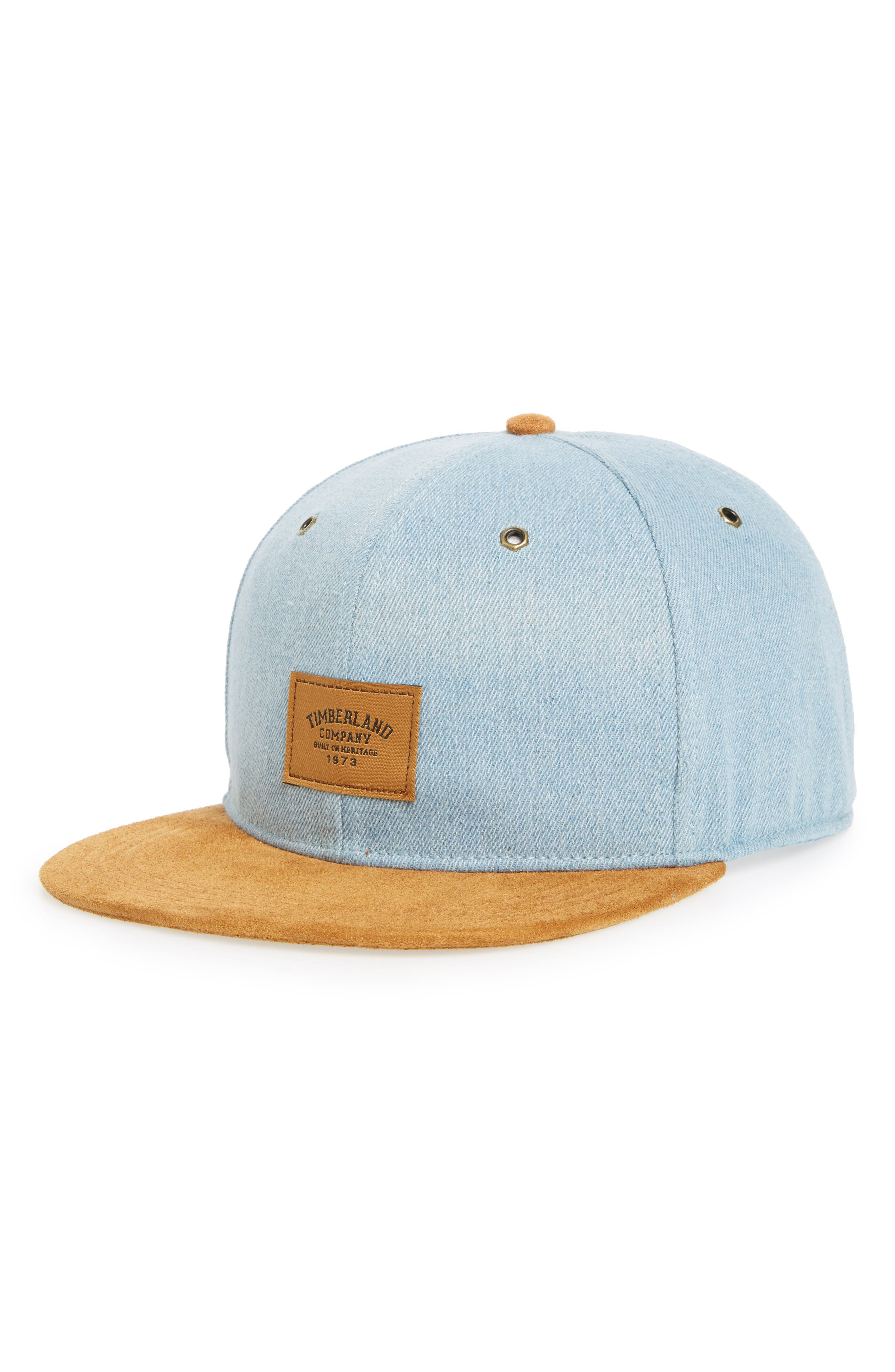 Tilton Logo Baseball Cap,                             Main thumbnail 1, color,                             BRUSHED DENIM
