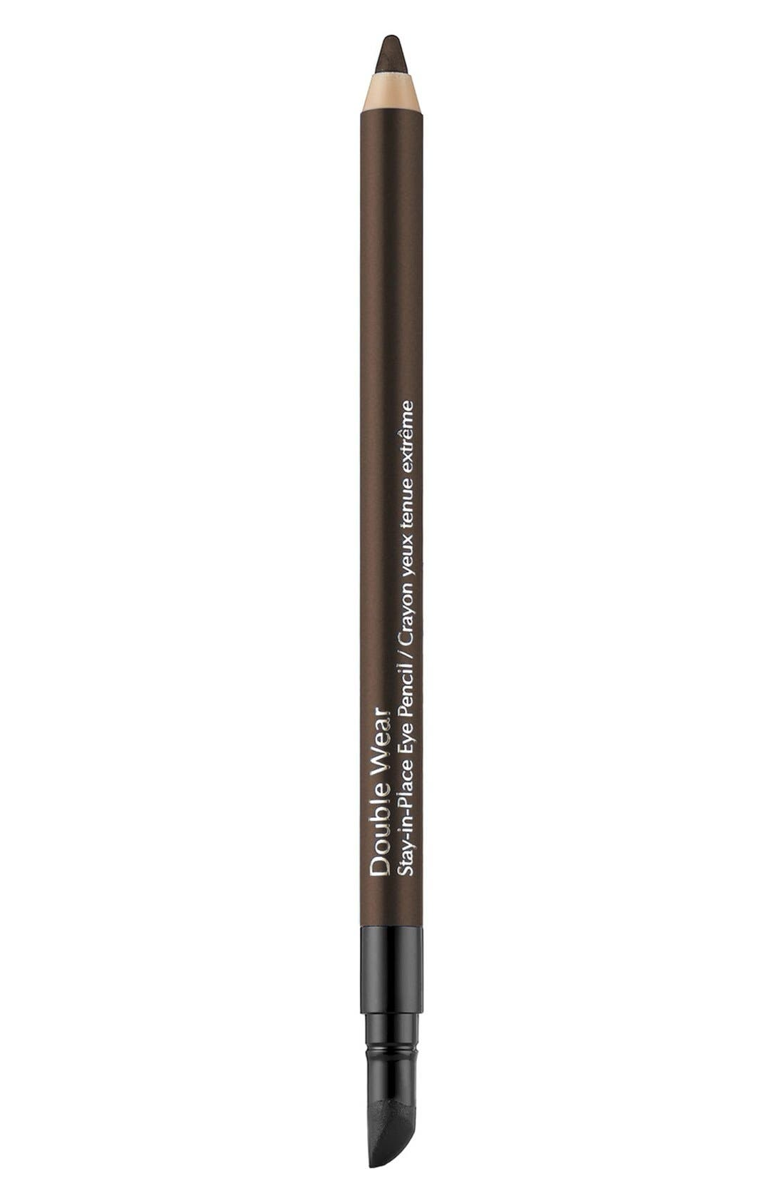 Double Wear Stay-in-Place Eye Pencil,                             Main thumbnail 1, color,                             COFFEE