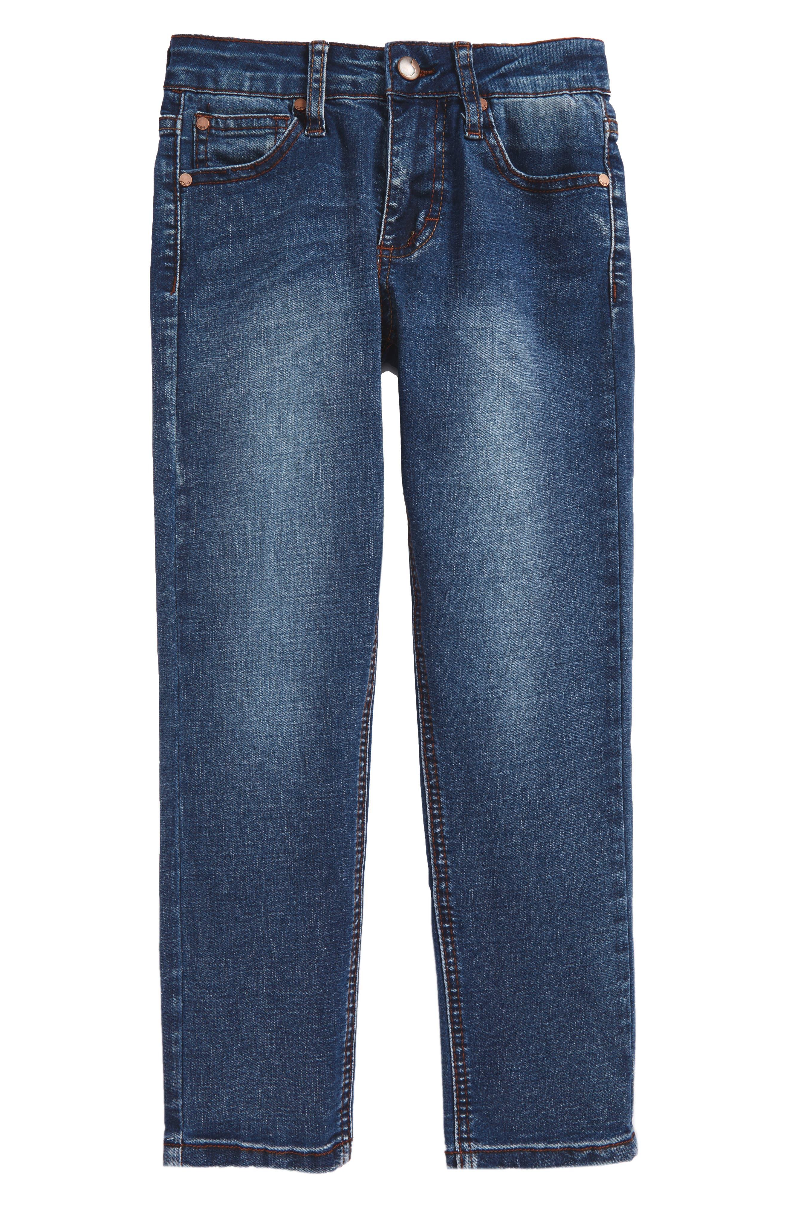 Brixton Slim Fit Stretch Jeans,                             Main thumbnail 1, color,