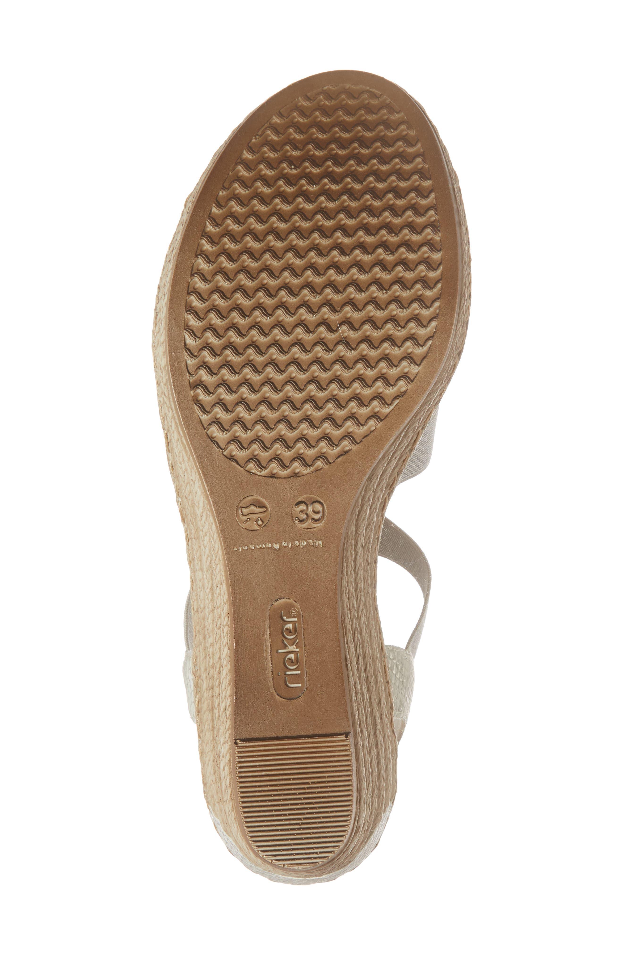 'Fanni' Wedge Sandal,                             Alternate thumbnail 6, color,                             ICE