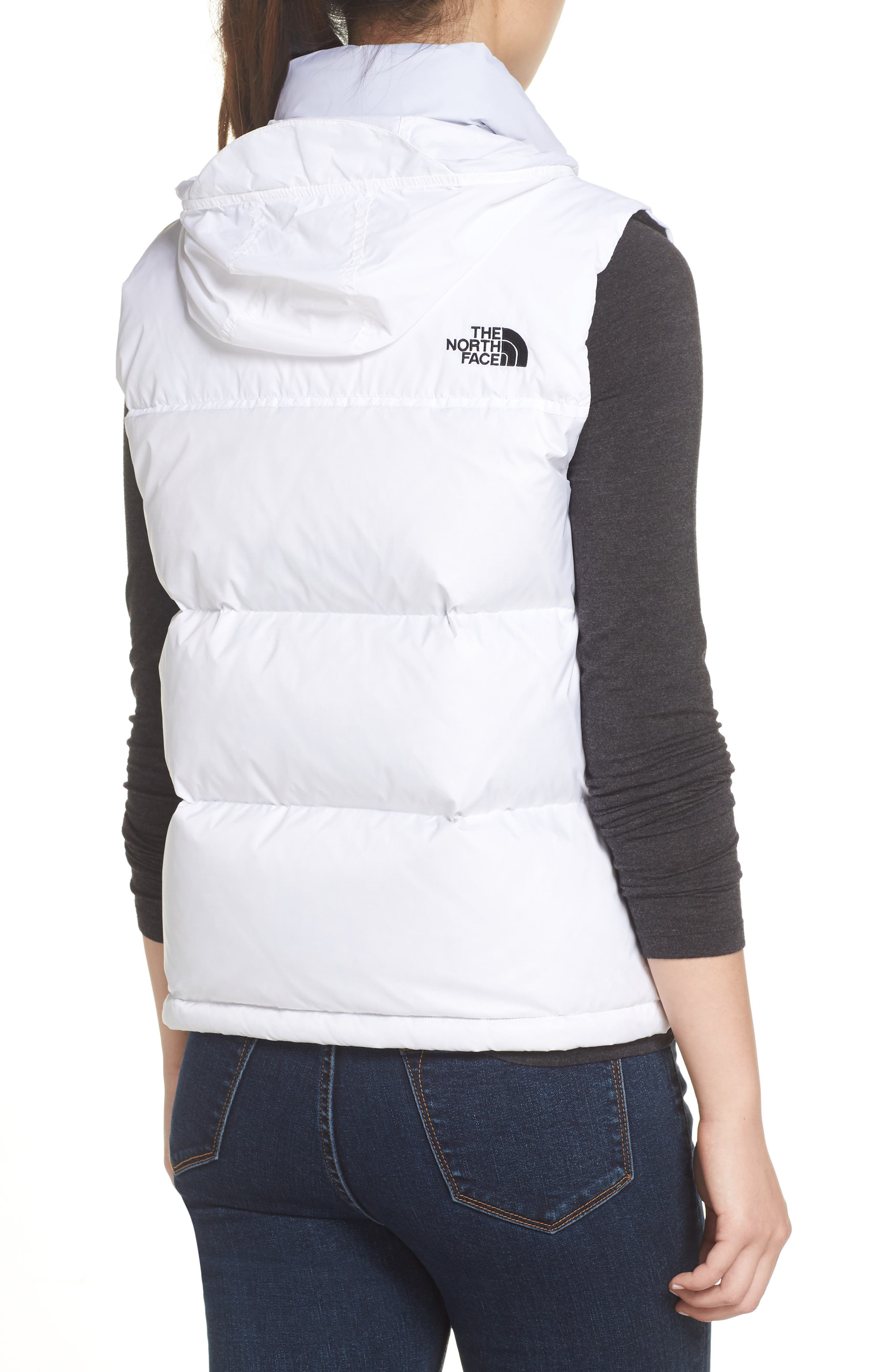THE NORTH FACE,                             Nuptse 1996 Packable 700-Fill Power Down Vest,                             Alternate thumbnail 2, color,                             TNF WHITE