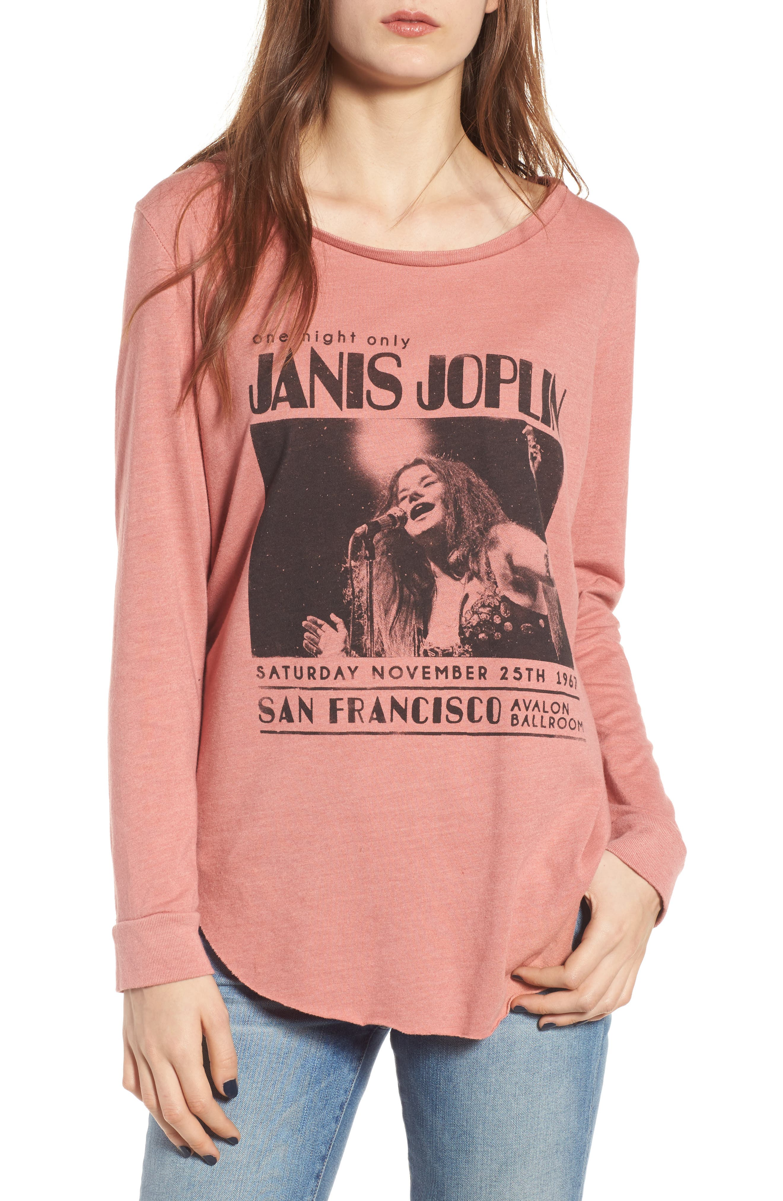 Janis Joplin One Night Only Pullover,                             Main thumbnail 1, color,