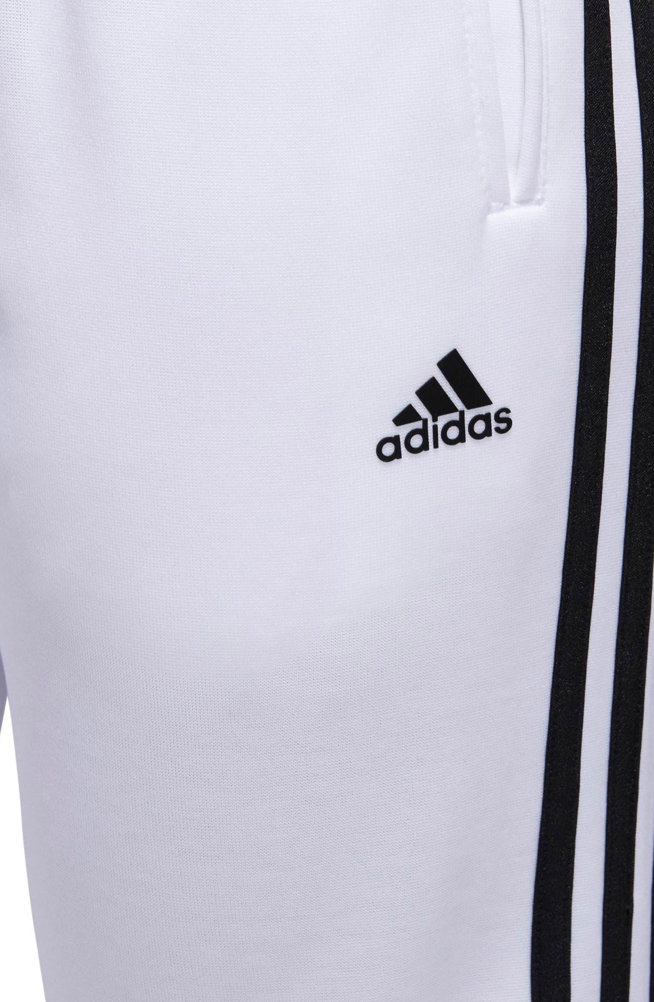 Tricot Snap Pants,                             Alternate thumbnail 9, color,                             WHITE/ BLACK/ BLACK