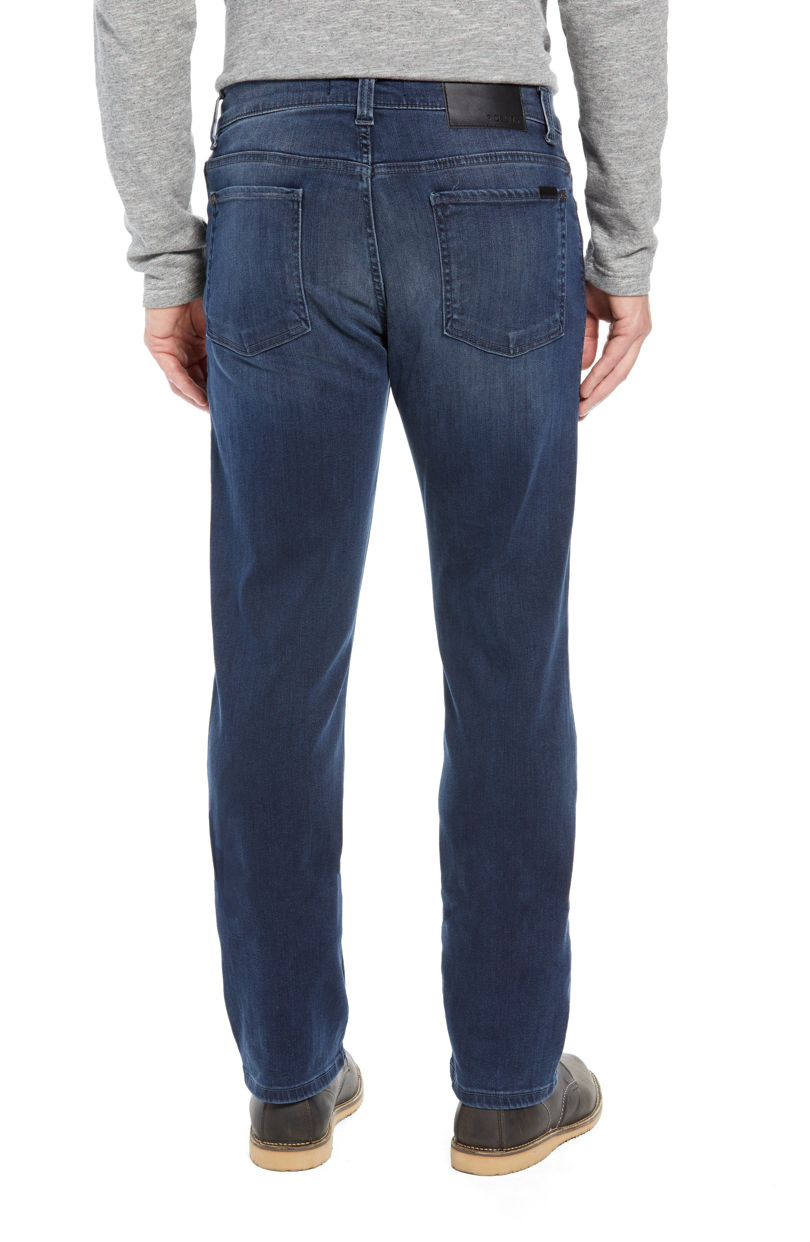 50-11 Relaxed Fit Jeans,                             Alternate thumbnail 2, color,                             BEL AIR BLUE