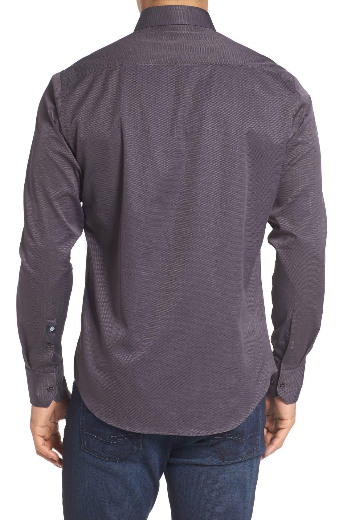 Textured Sport Shirt,                             Alternate thumbnail 6, color,