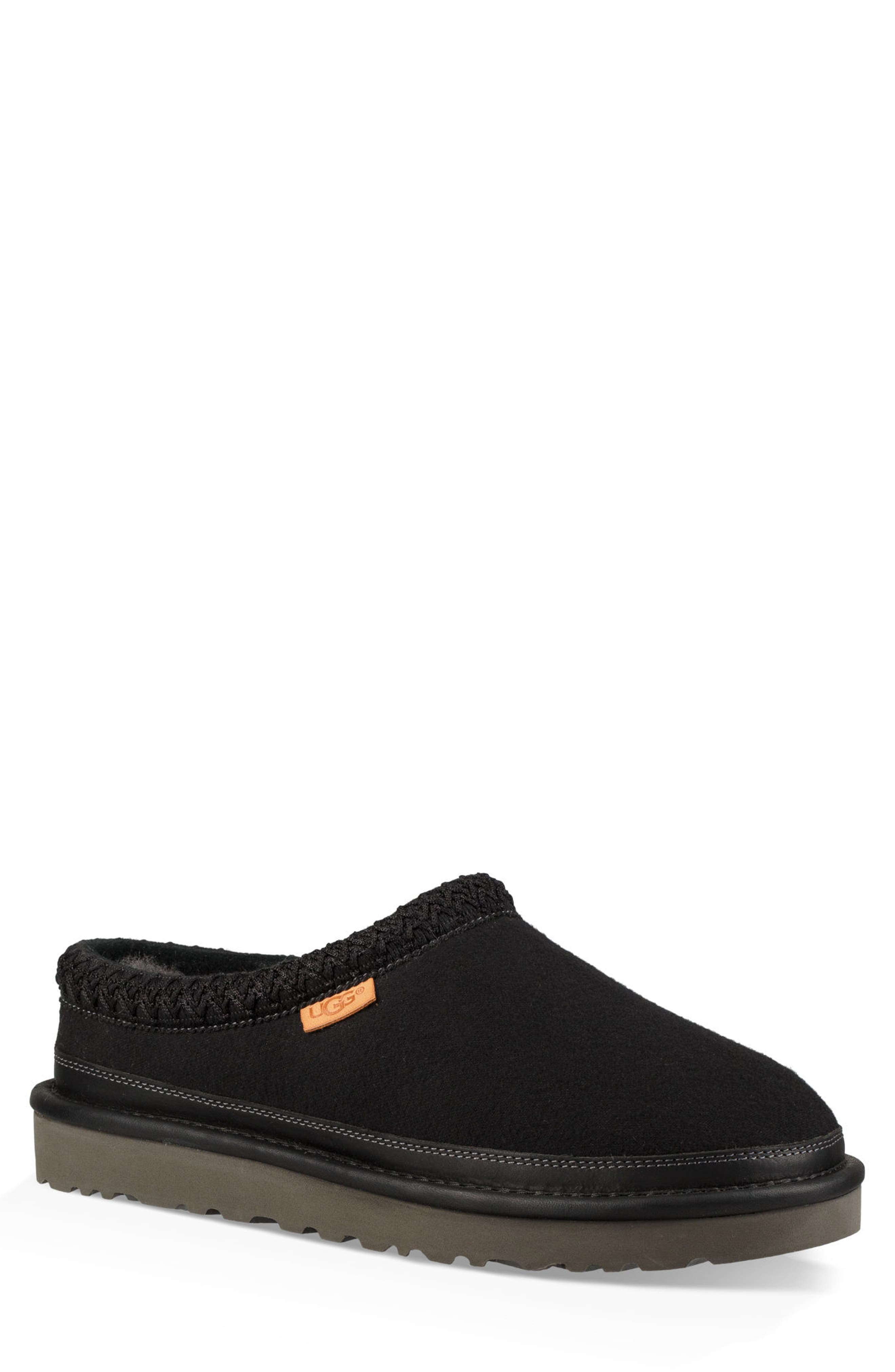 'Tasman' Slipper,                             Main thumbnail 1, color,                             BLACK/ BLACK