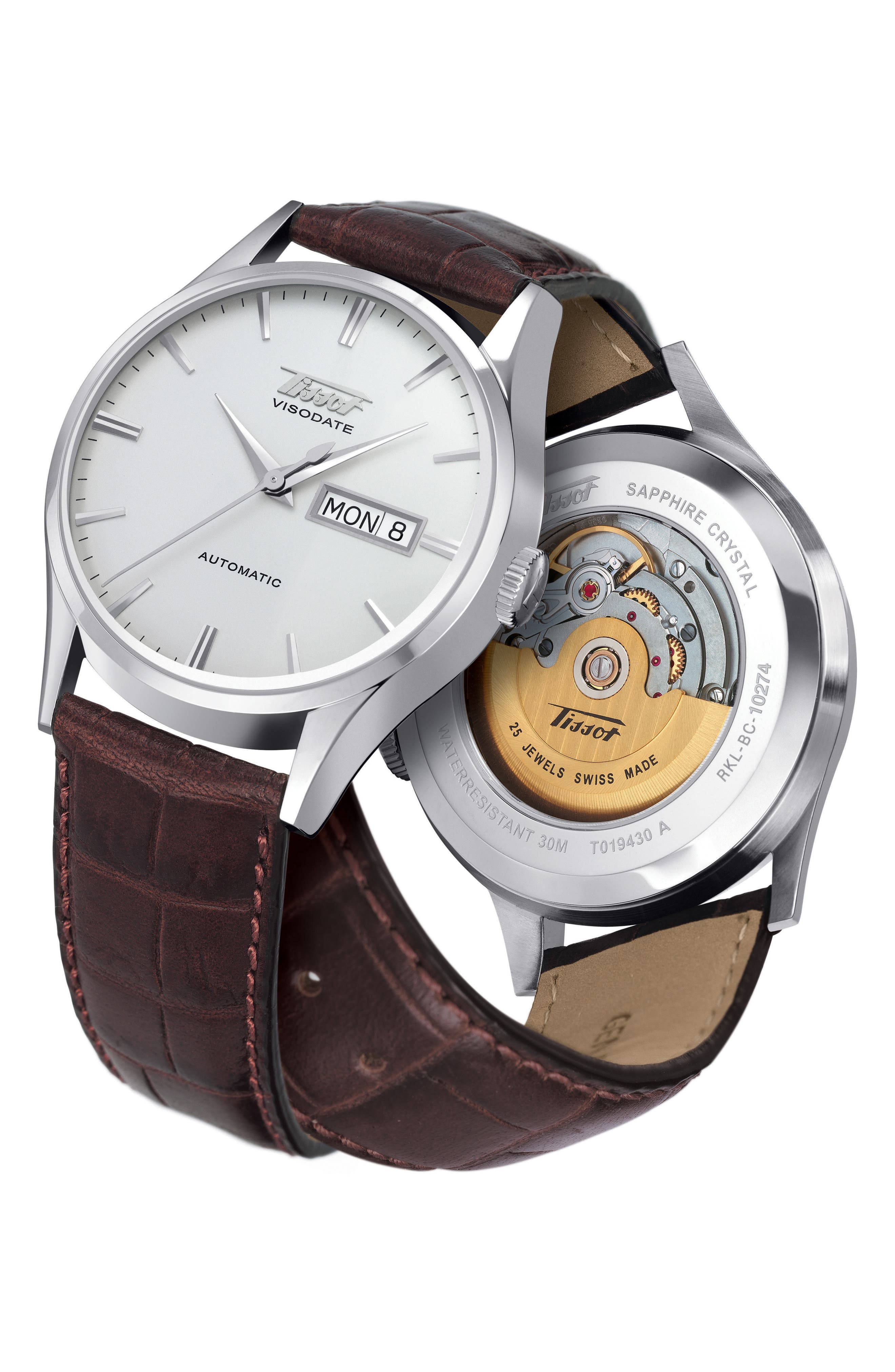 Heritage Visodate Automatic Watch, 40mm,                             Alternate thumbnail 4, color,