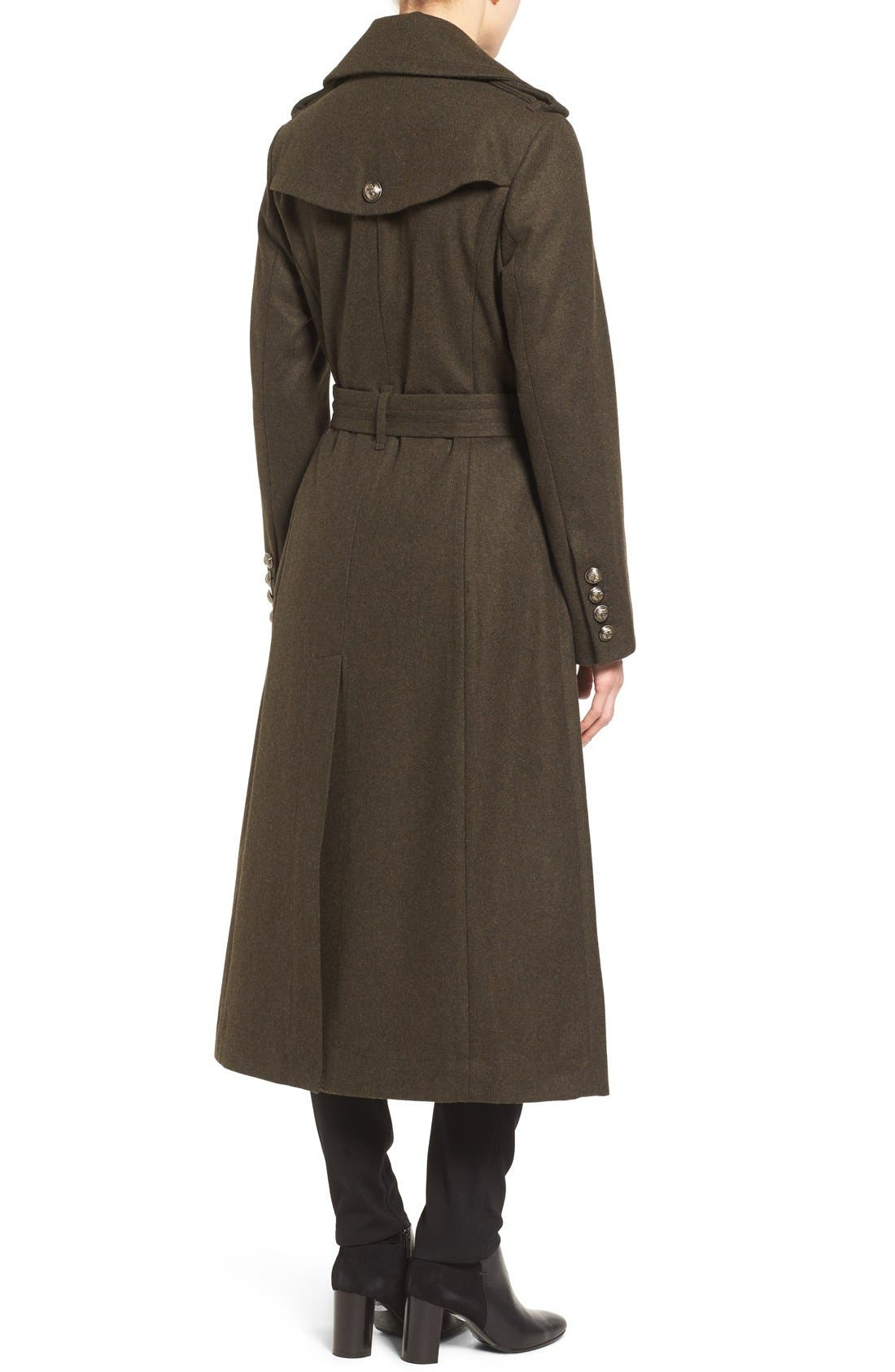 Double Breasted Trench Coat,                             Alternate thumbnail 4, color,                             310