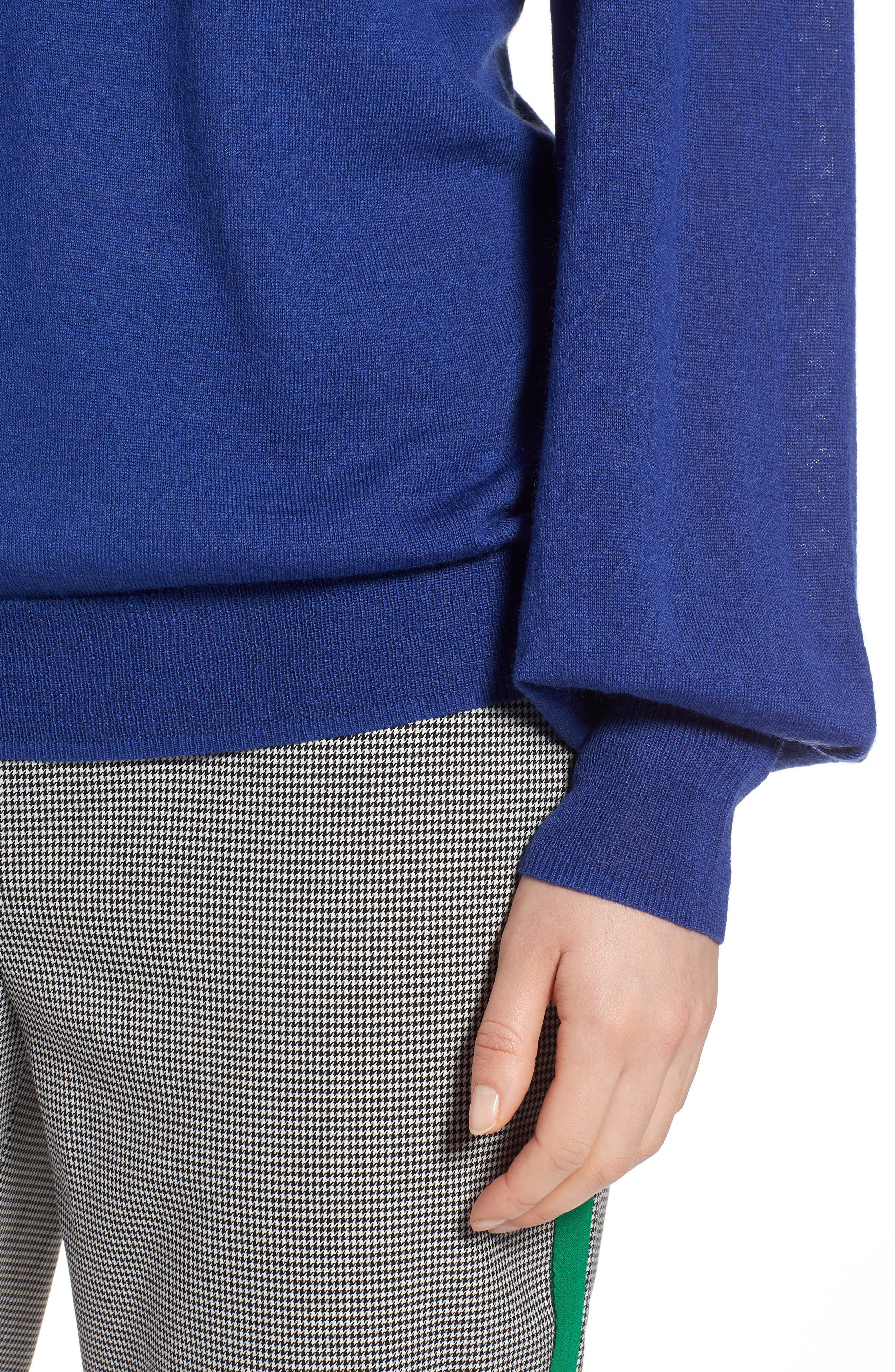 Puff Sleeve Sweater,                             Alternate thumbnail 35, color,