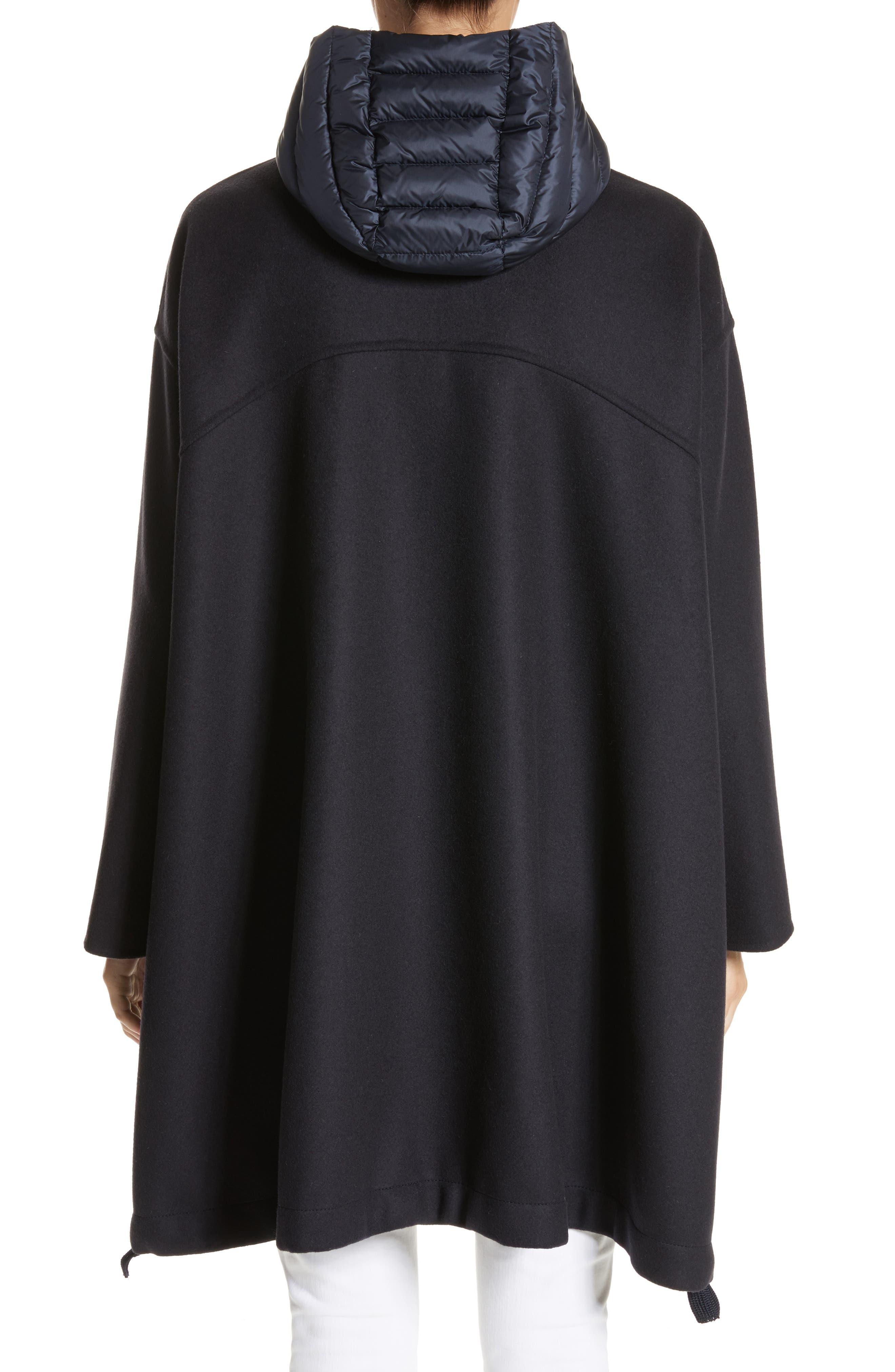 Grenat Wool & Cashmere Hooded Jacket,                             Alternate thumbnail 2, color,                             419