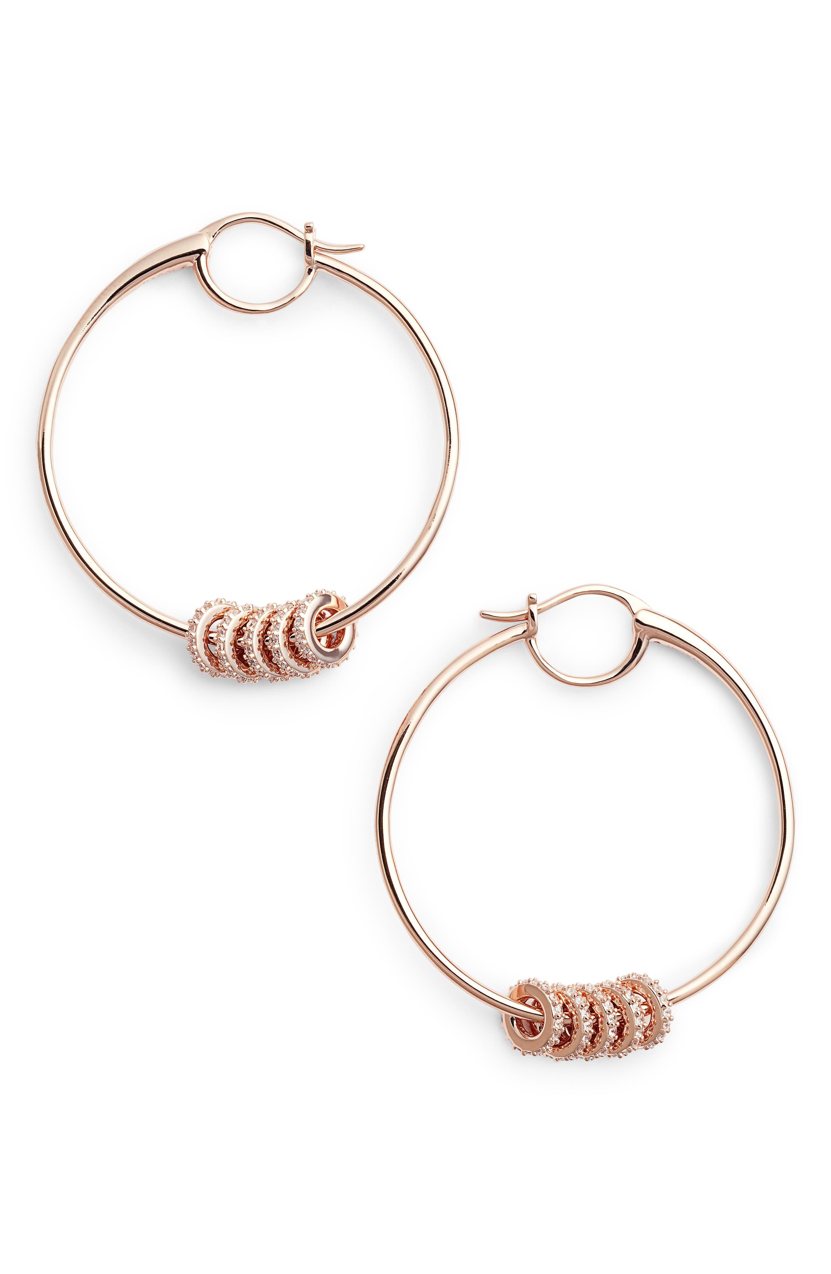 Hoop Earrings,                             Main thumbnail 2, color,