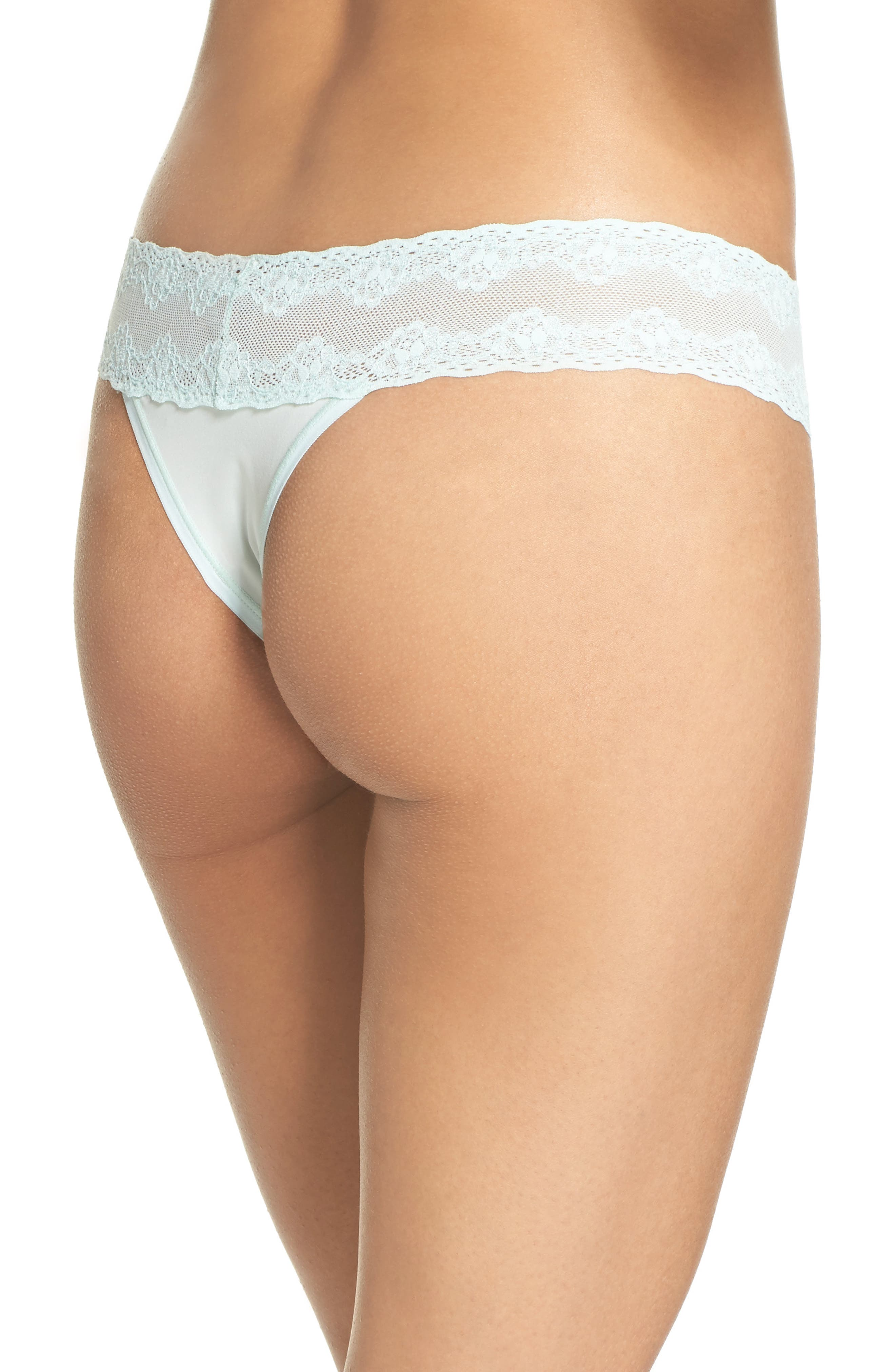 Bliss Perfection Thong,                             Alternate thumbnail 105, color,