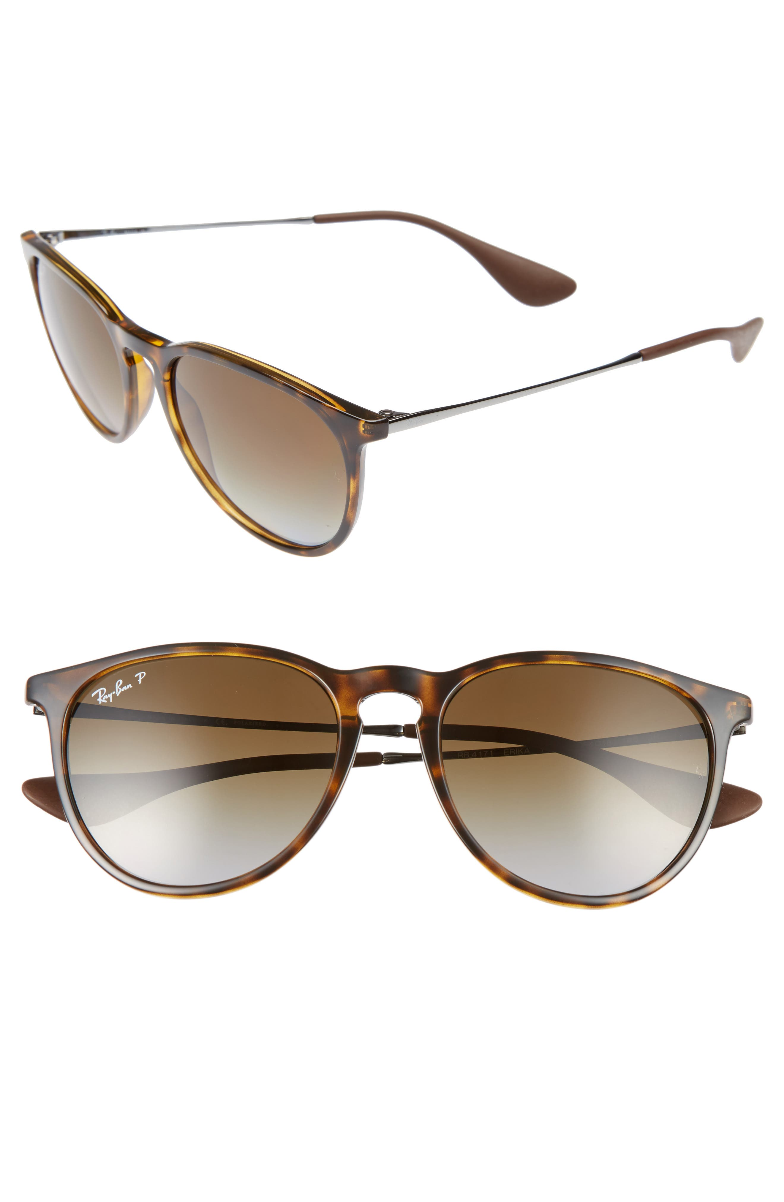 Erika Classic 54mm Sunglasses,                             Alternate thumbnail 2, color,                             HAVANA