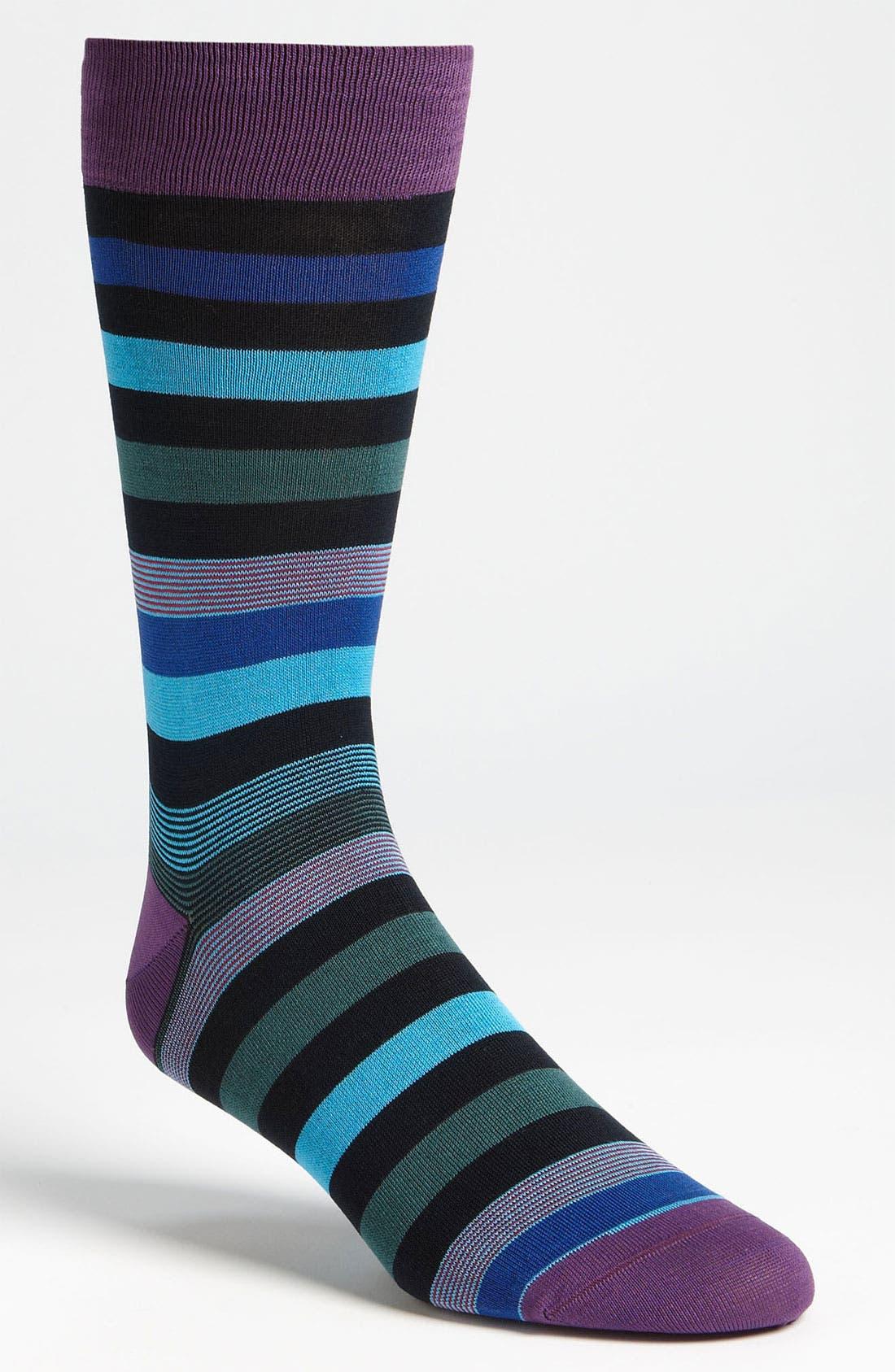 Stripe Socks,                             Main thumbnail 9, color,