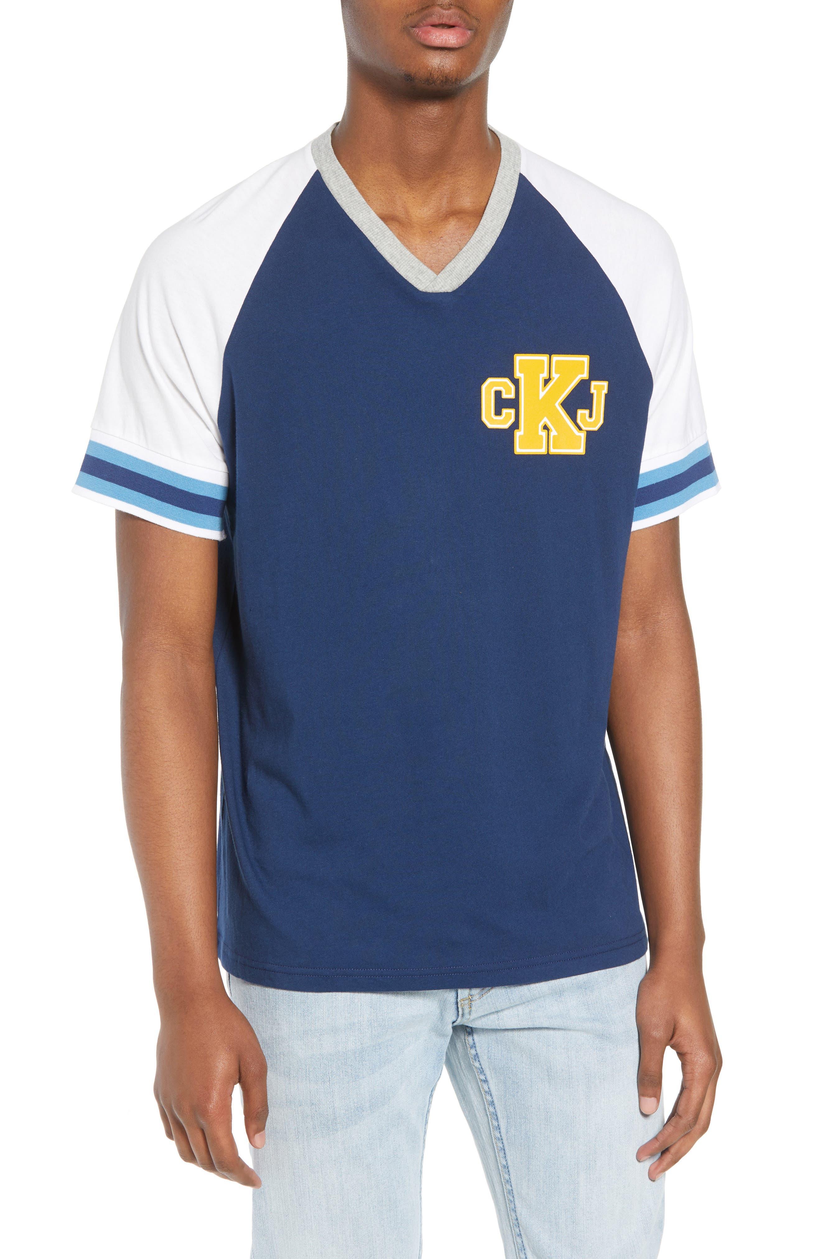 Colorblock T-Shirt,                             Main thumbnail 1, color,                             402