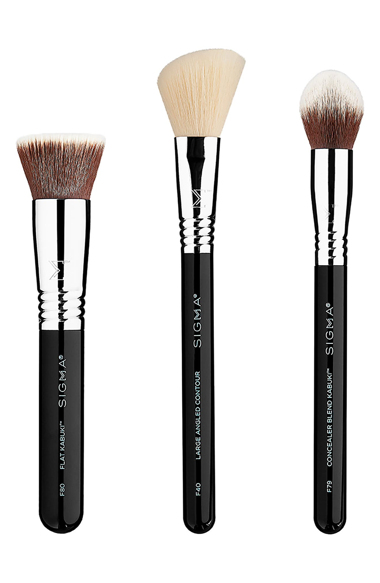 Finished Face Brush Set,                         Main,                         color, NO COLOR