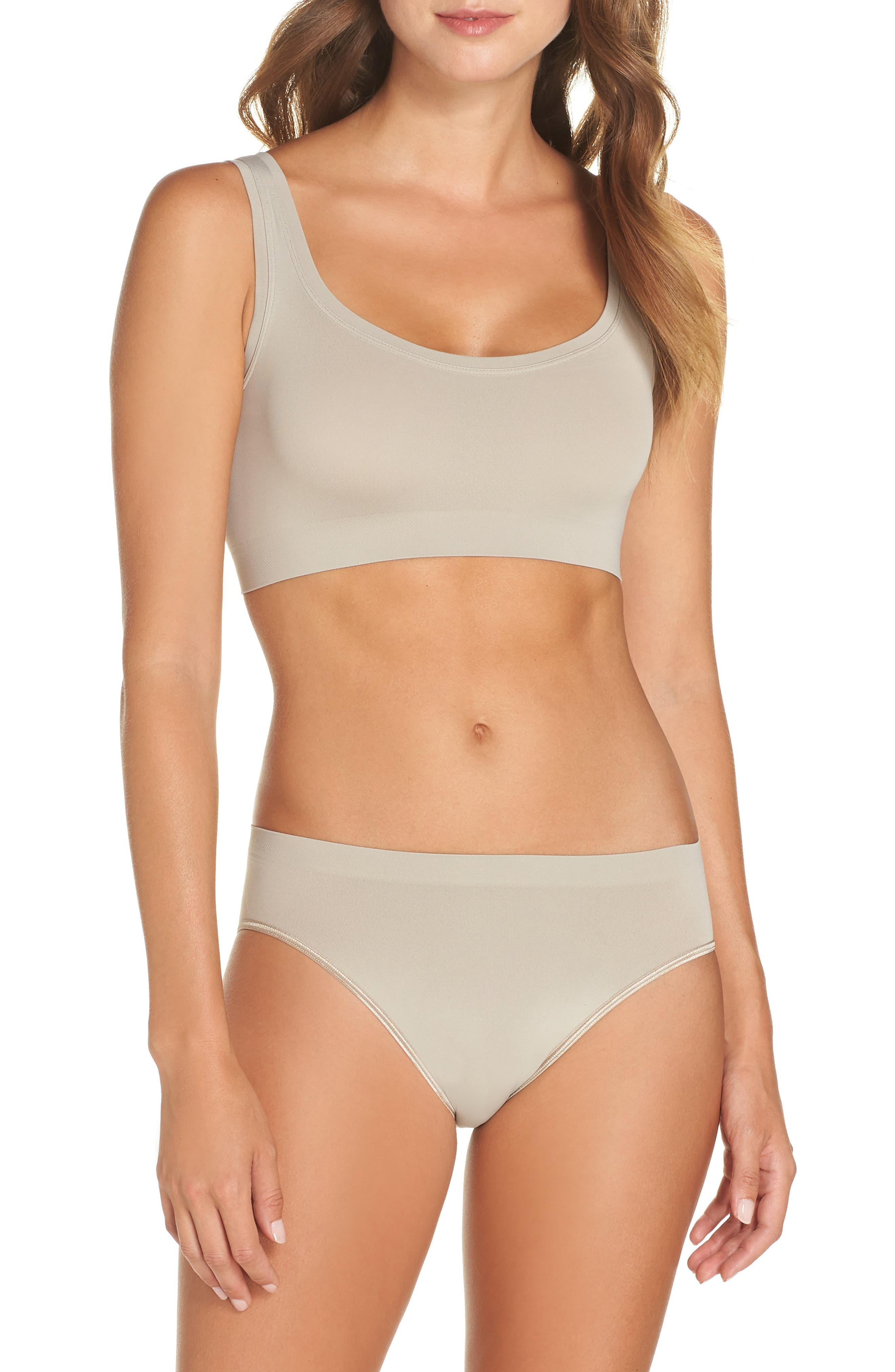 'Touch Feeling' High Cut Briefs,                             Alternate thumbnail 7, color,                             NATURAL STONE