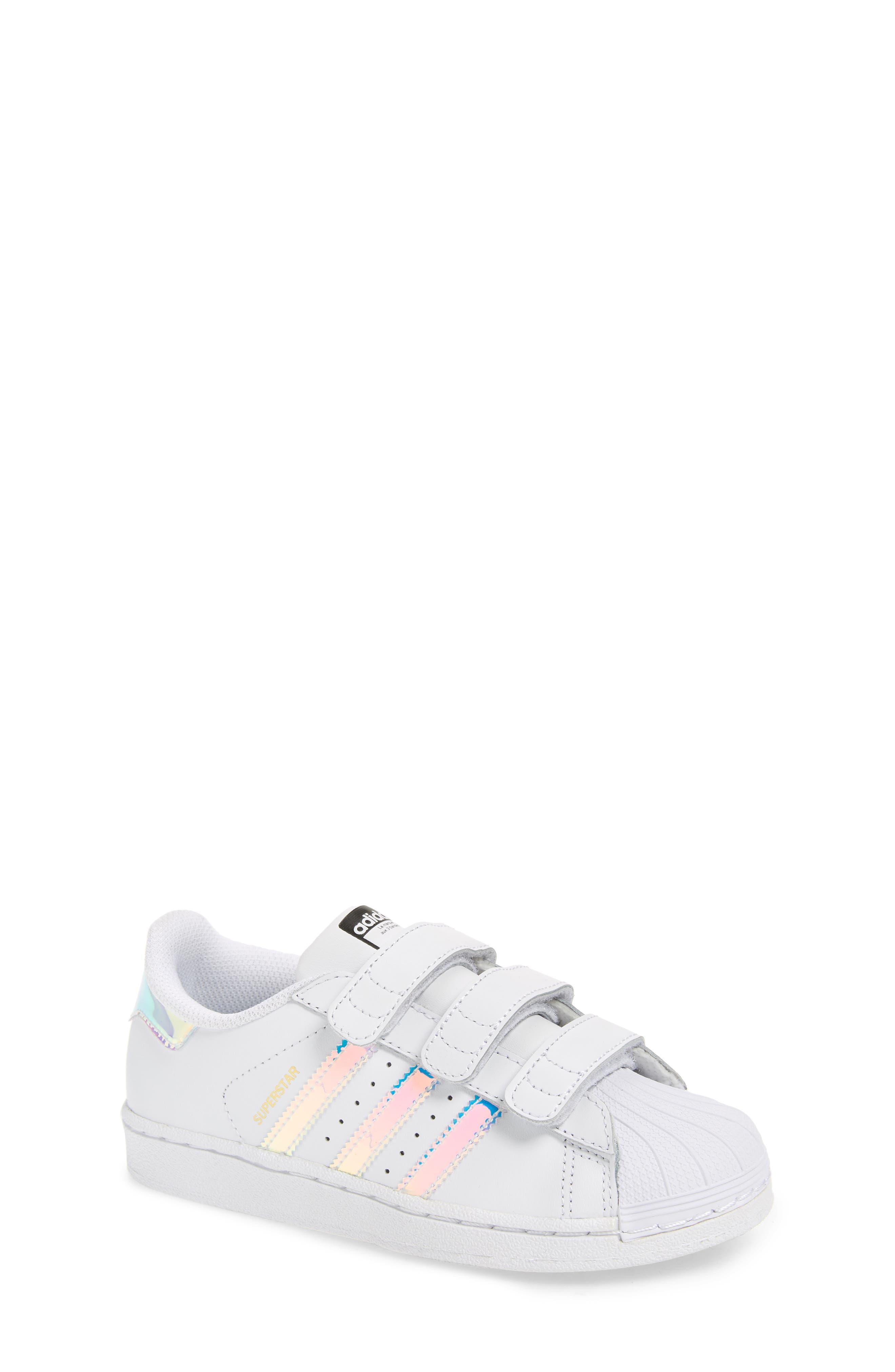 Superstar - Iridescent Sneaker,                             Main thumbnail 1, color,                             100