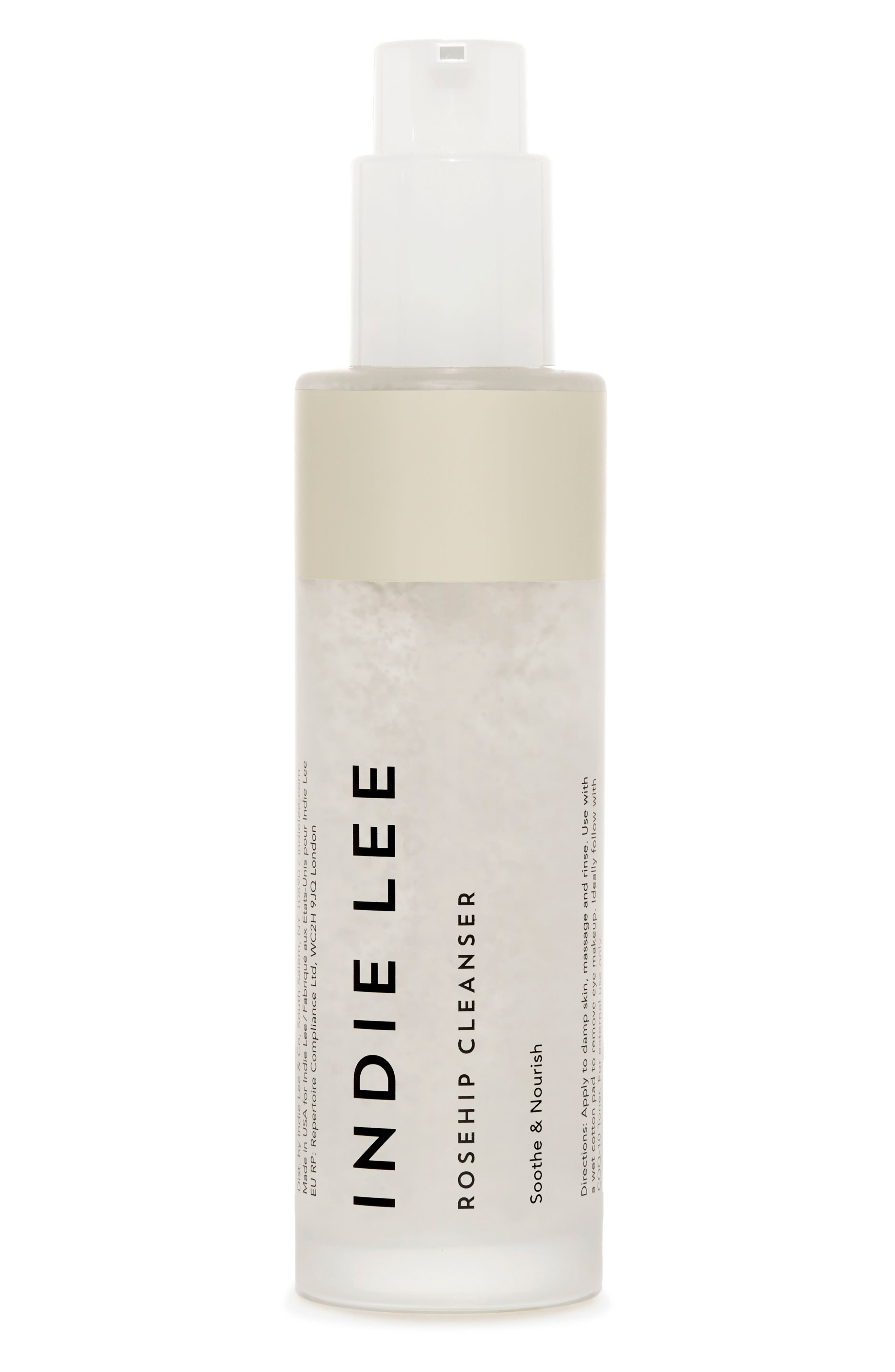 INDIE LEE,                             Rosehip Cleanser,                             Main thumbnail 1, color,                             NO COLOR