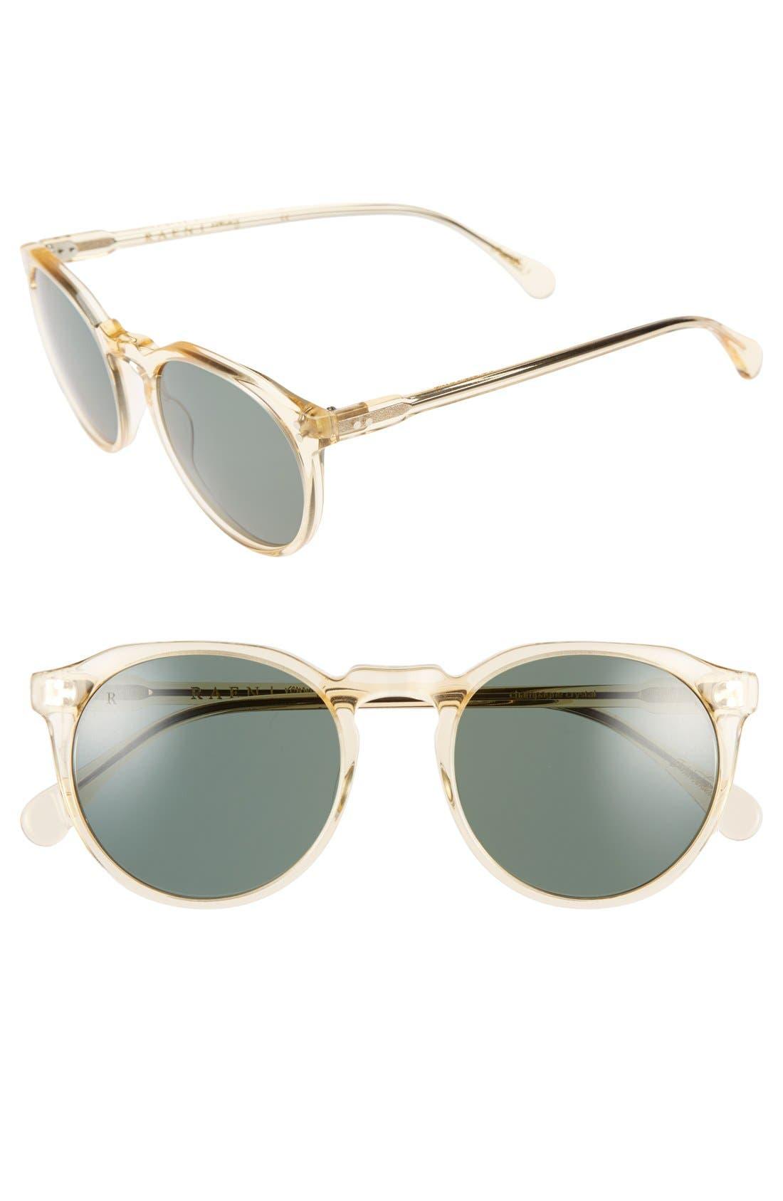 'Remmy' 52mm Polarized Sunglasses,                             Main thumbnail 4, color,