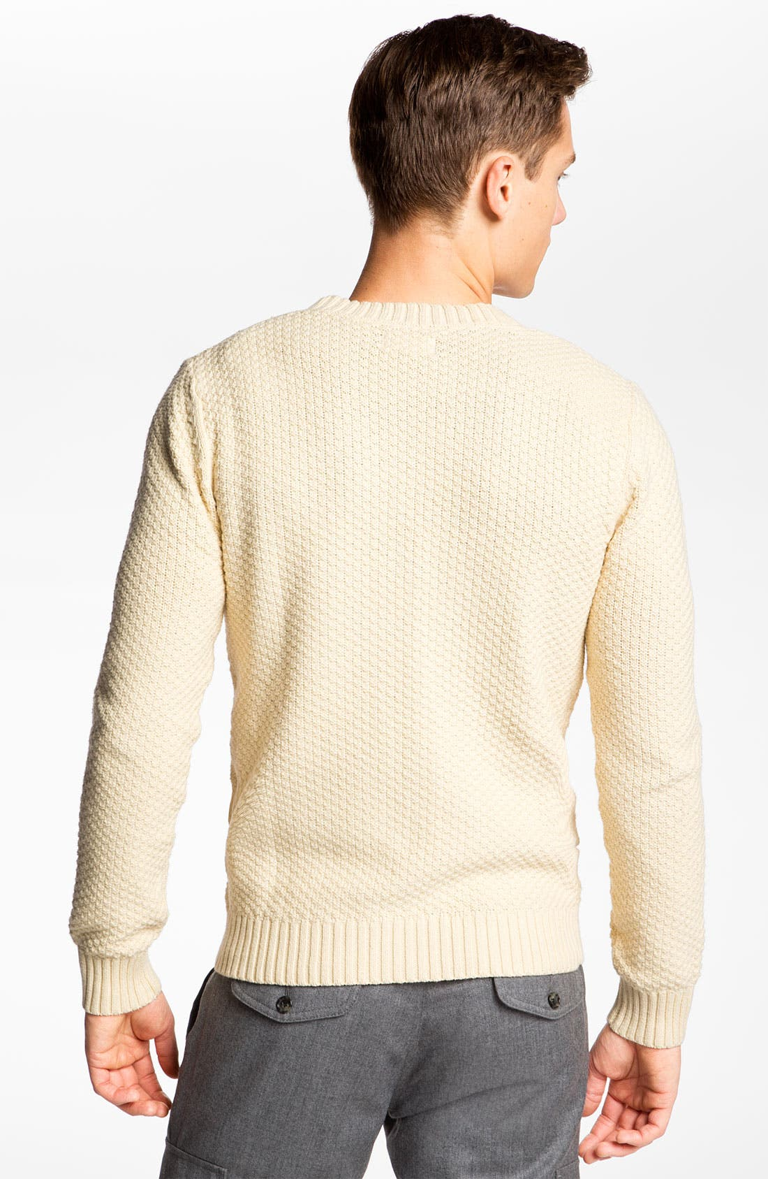 'Pineapple Knit' Sweater,                             Alternate thumbnail 2, color,                             130