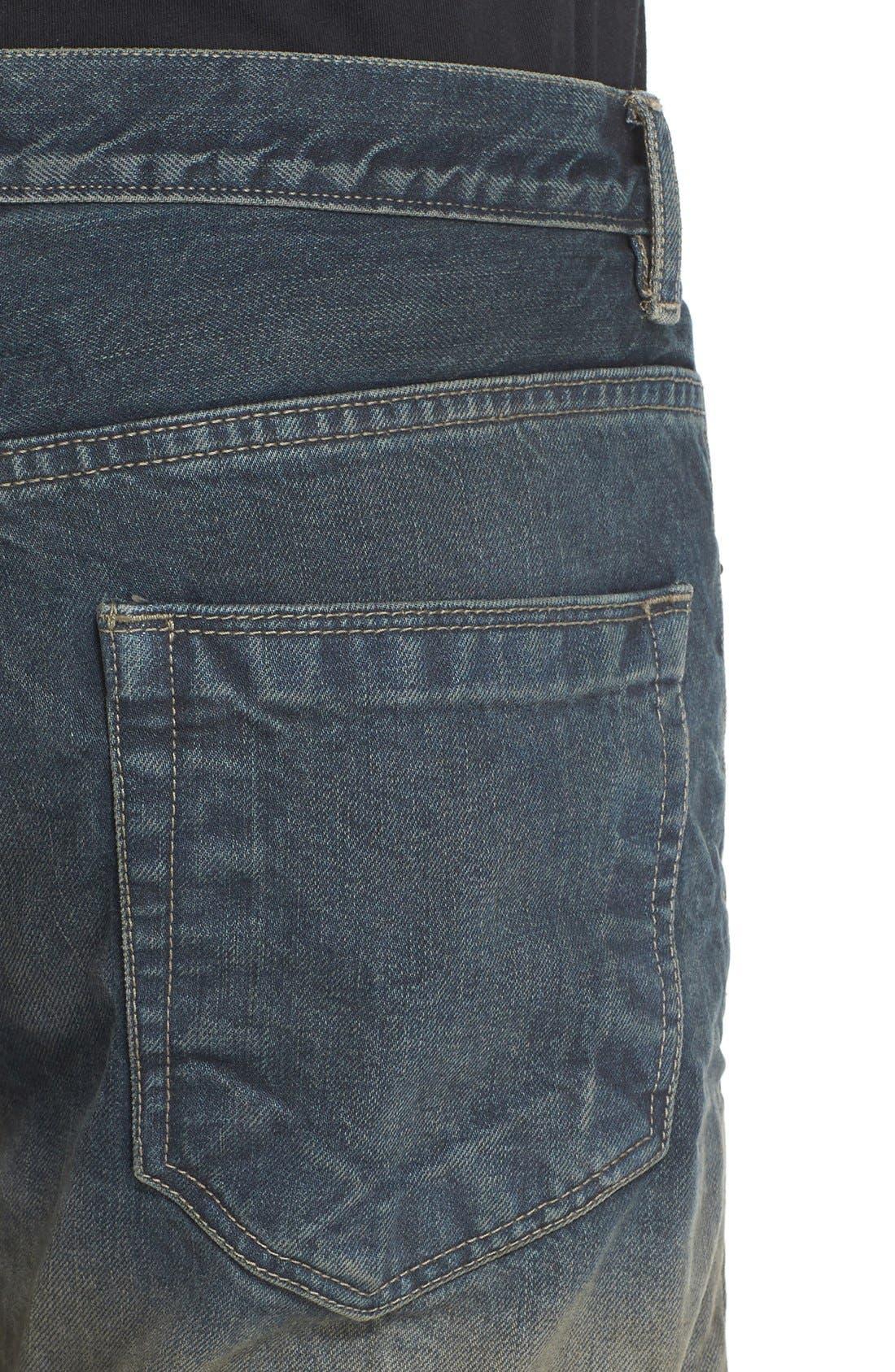 'Hustler' Berlin Fit Straight Leg Jeans,                             Alternate thumbnail 3, color,                             400