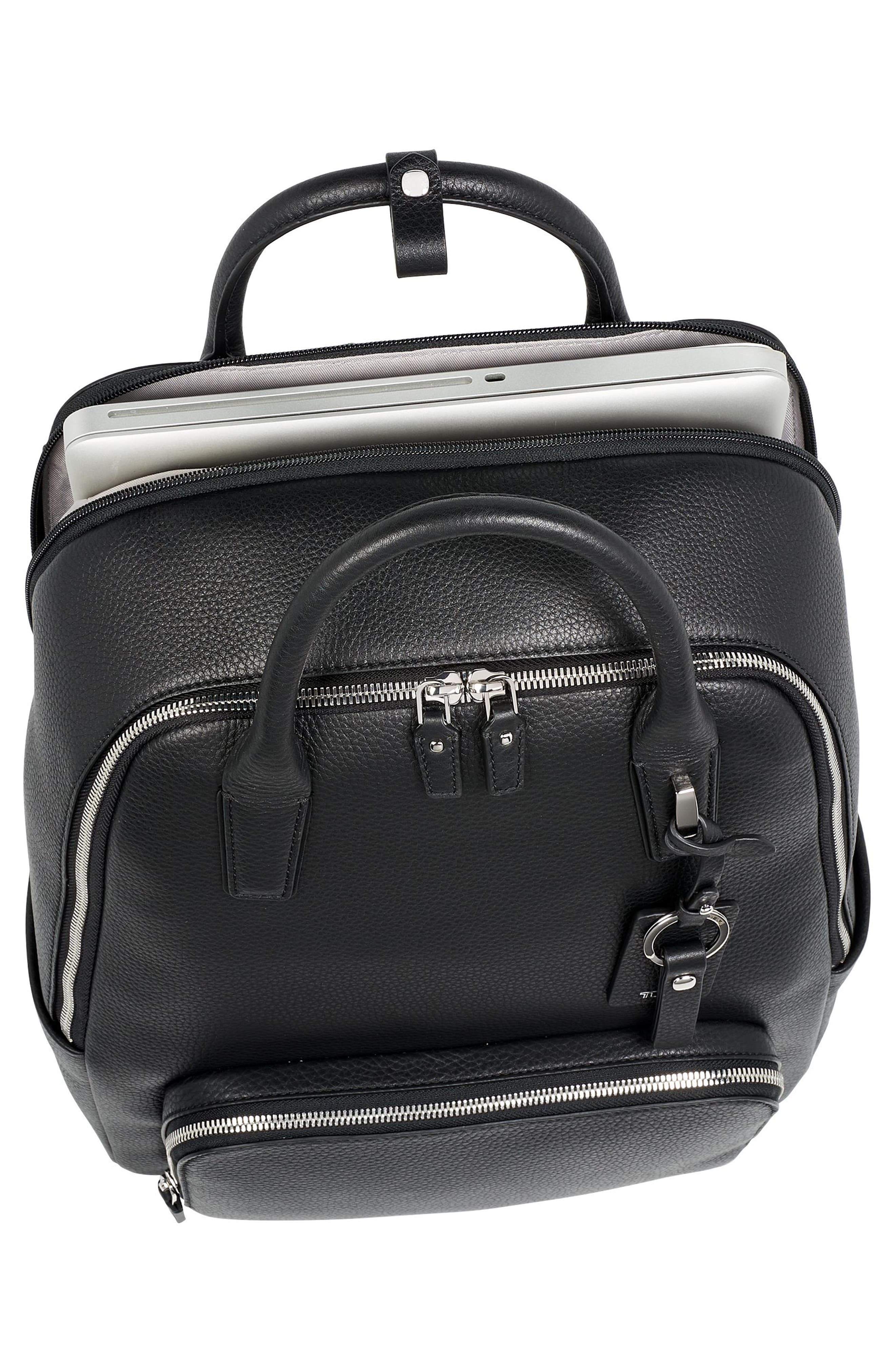 TUMI,                             Stanton Indra Commuter Backpack,                             Alternate thumbnail 5, color,                             001