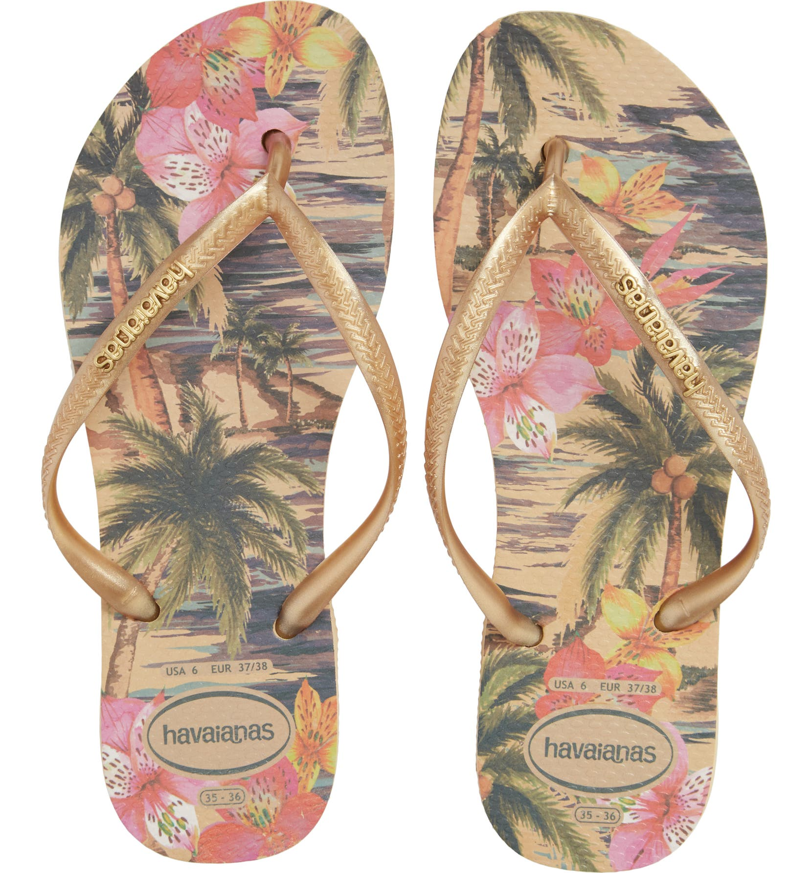 Havaianas  Slim Tropical  Flip Flop (Women)  2bc290bd7