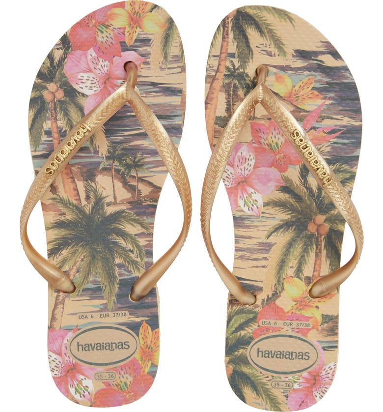 34949025adb98 Havaianas  Slim Tropical  Flip Flop (Women)