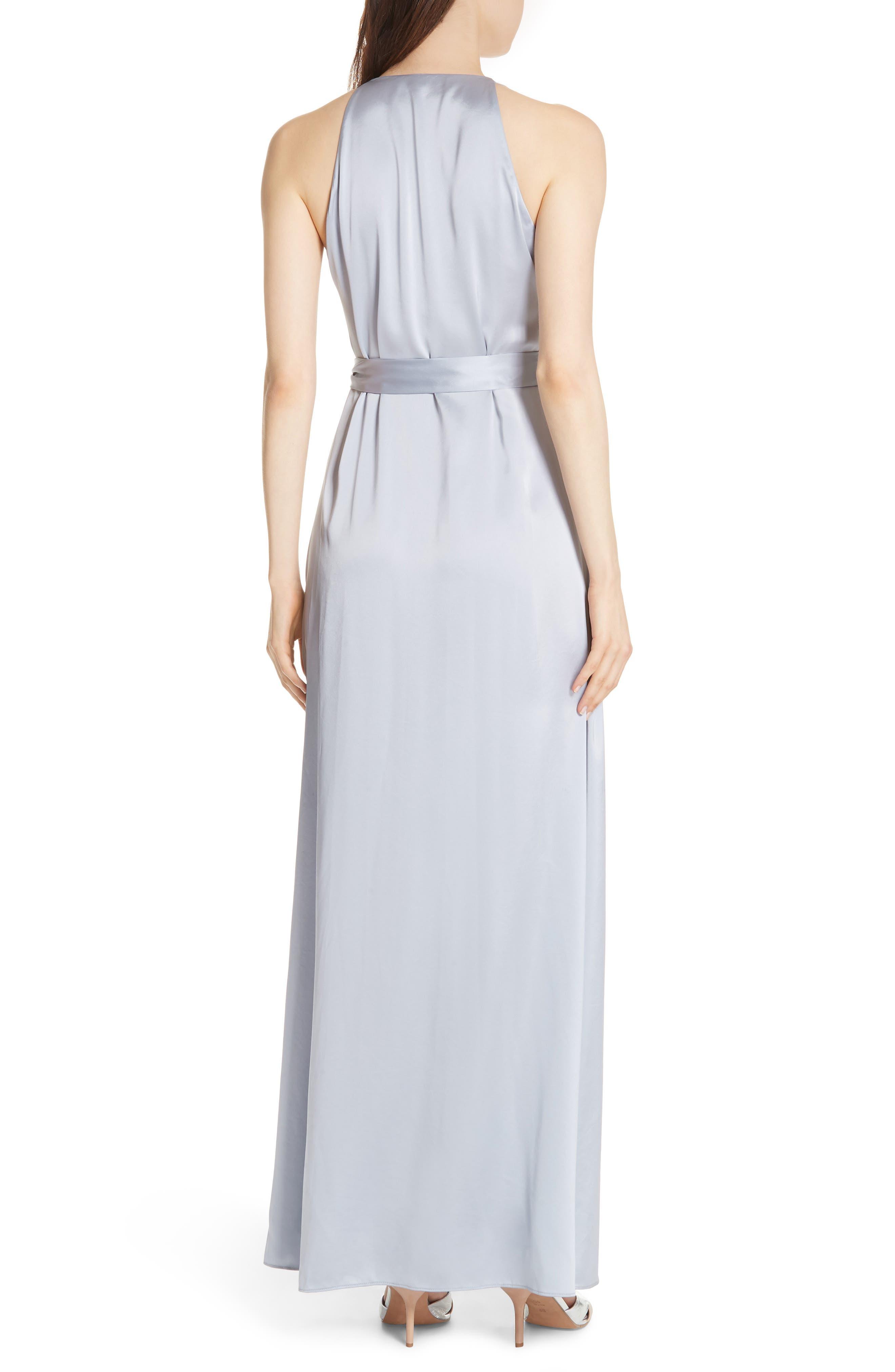 Diane von Furstenberg Wrap Gown,                             Alternate thumbnail 2, color,                             031