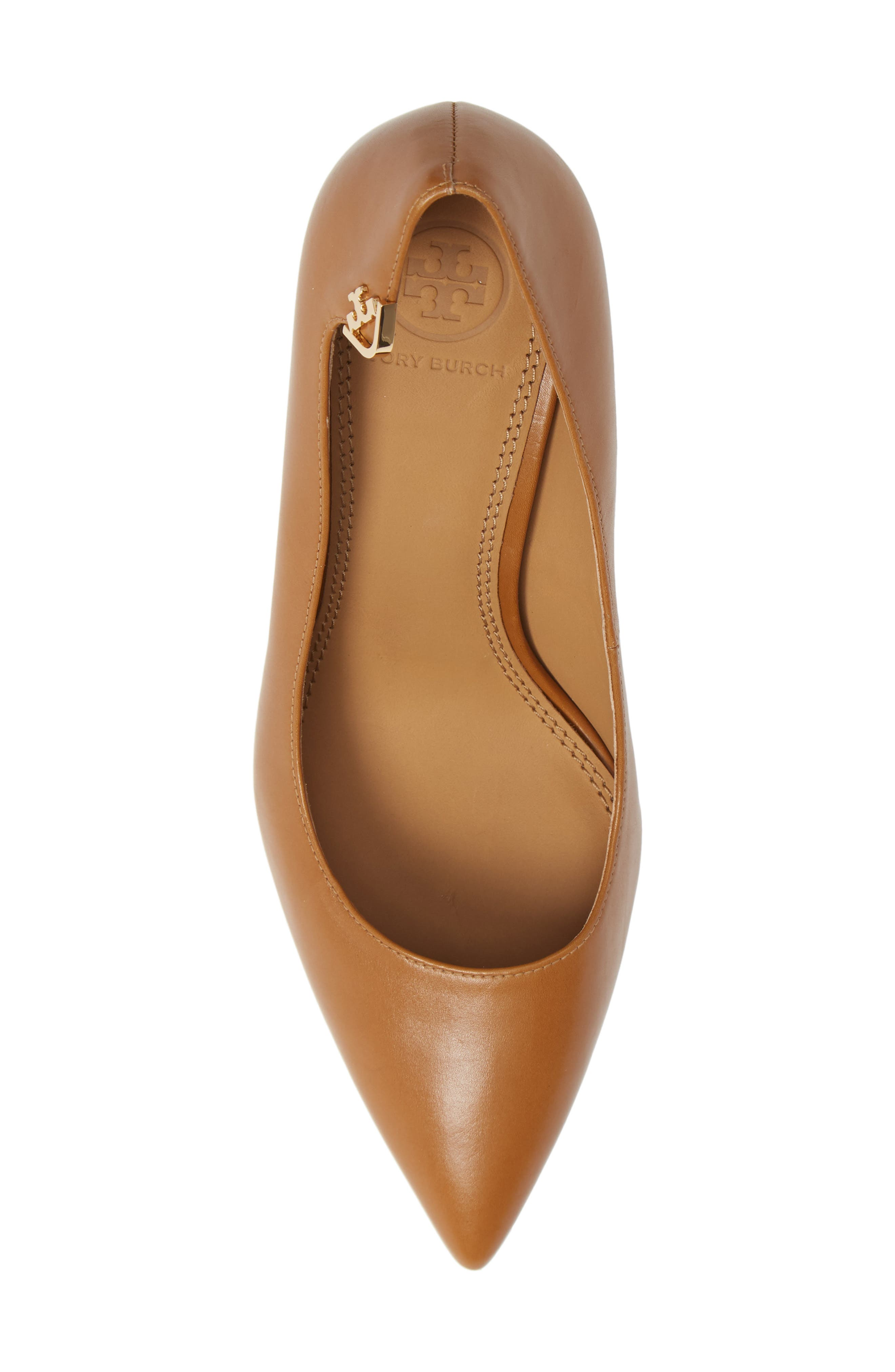 Elizabeth Pointy Toe Pump,                             Alternate thumbnail 5, color,                             DEEP VICUNA