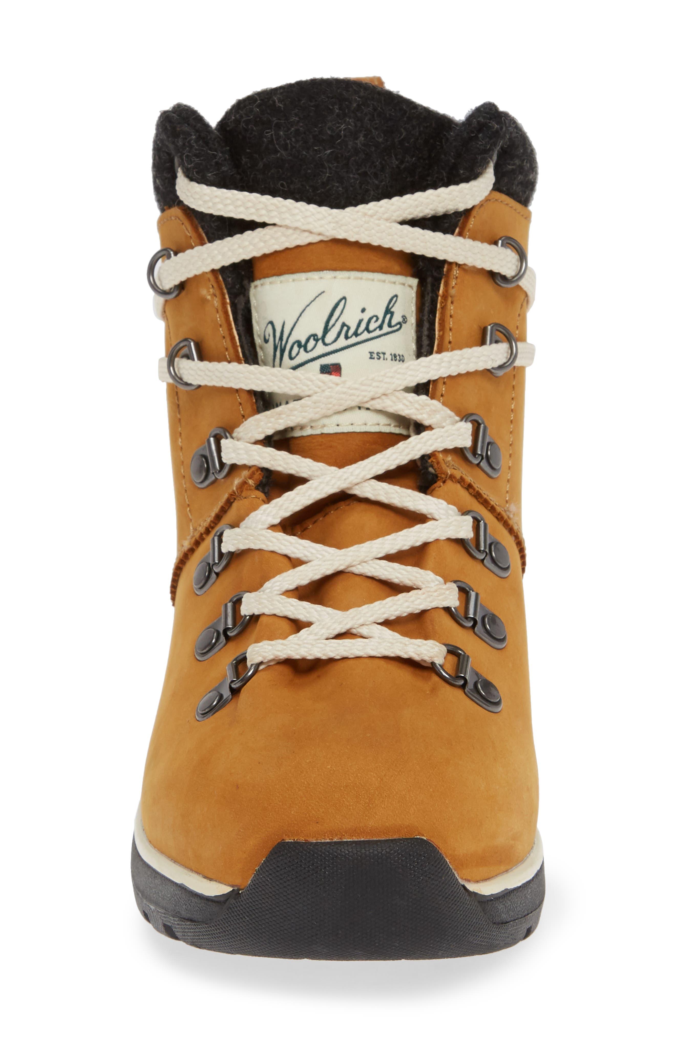 Rockies II Waterproof Hiking Boot,                             Alternate thumbnail 4, color,                             CONKER LEATHER