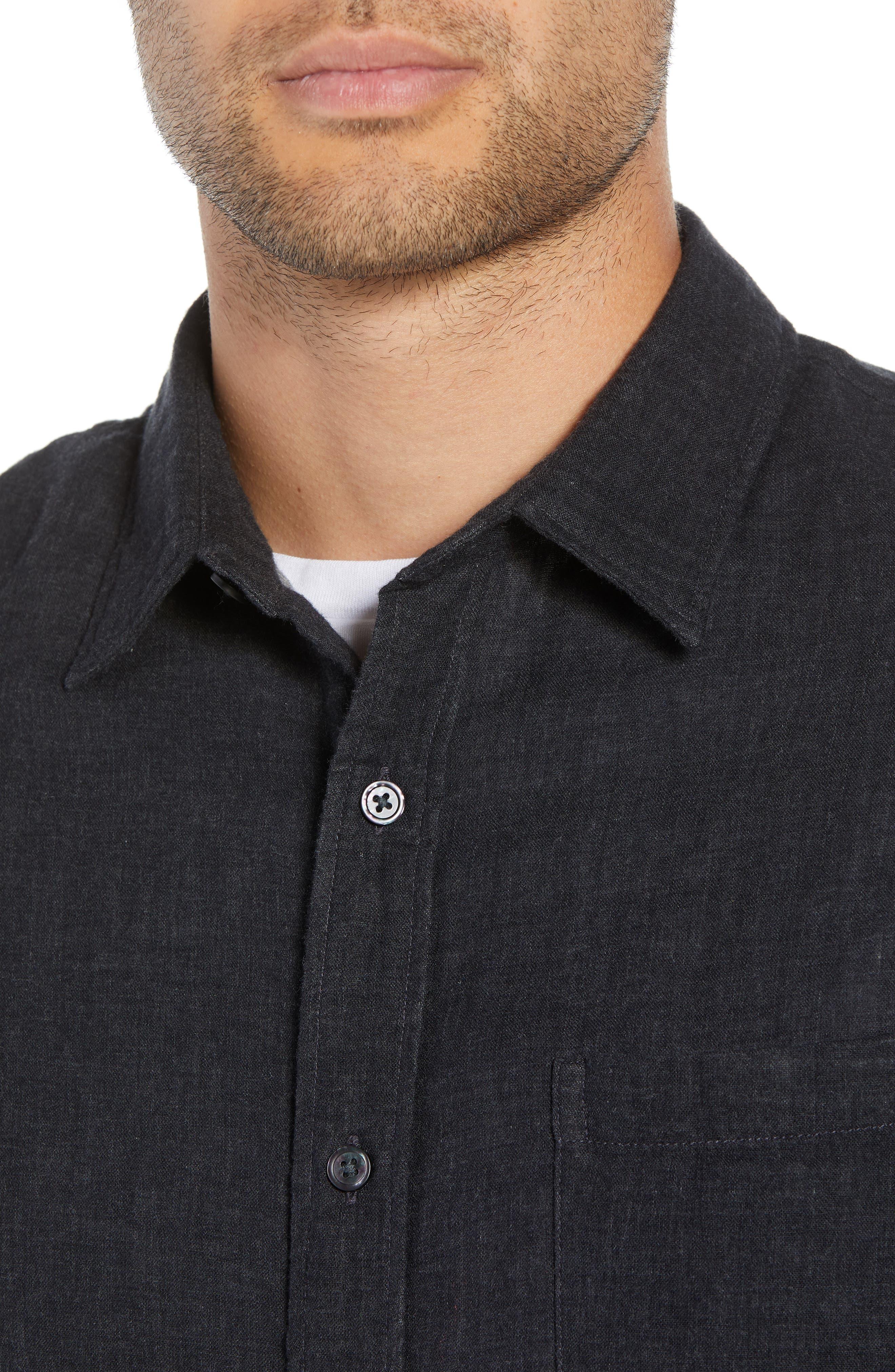 Classic Fit Double Knit Sport Shirt,                             Alternate thumbnail 2, color,                             008