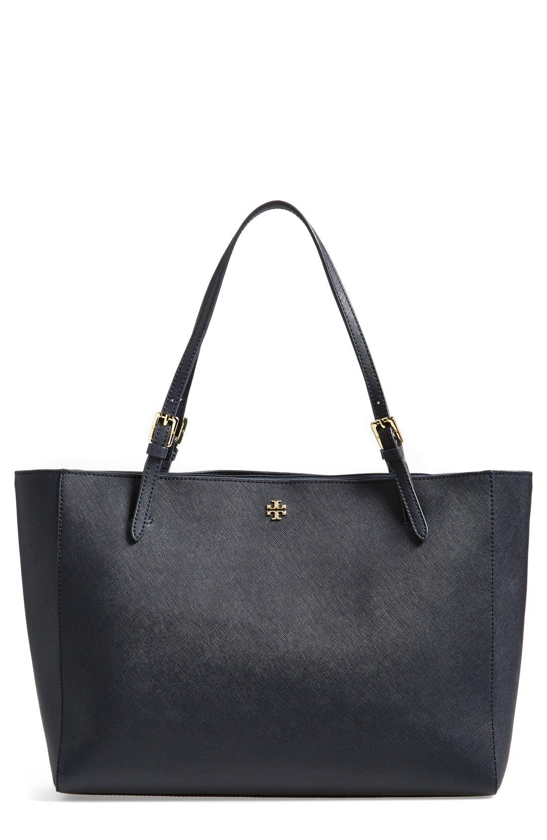 'York' Buckle Tote,                             Main thumbnail 7, color,