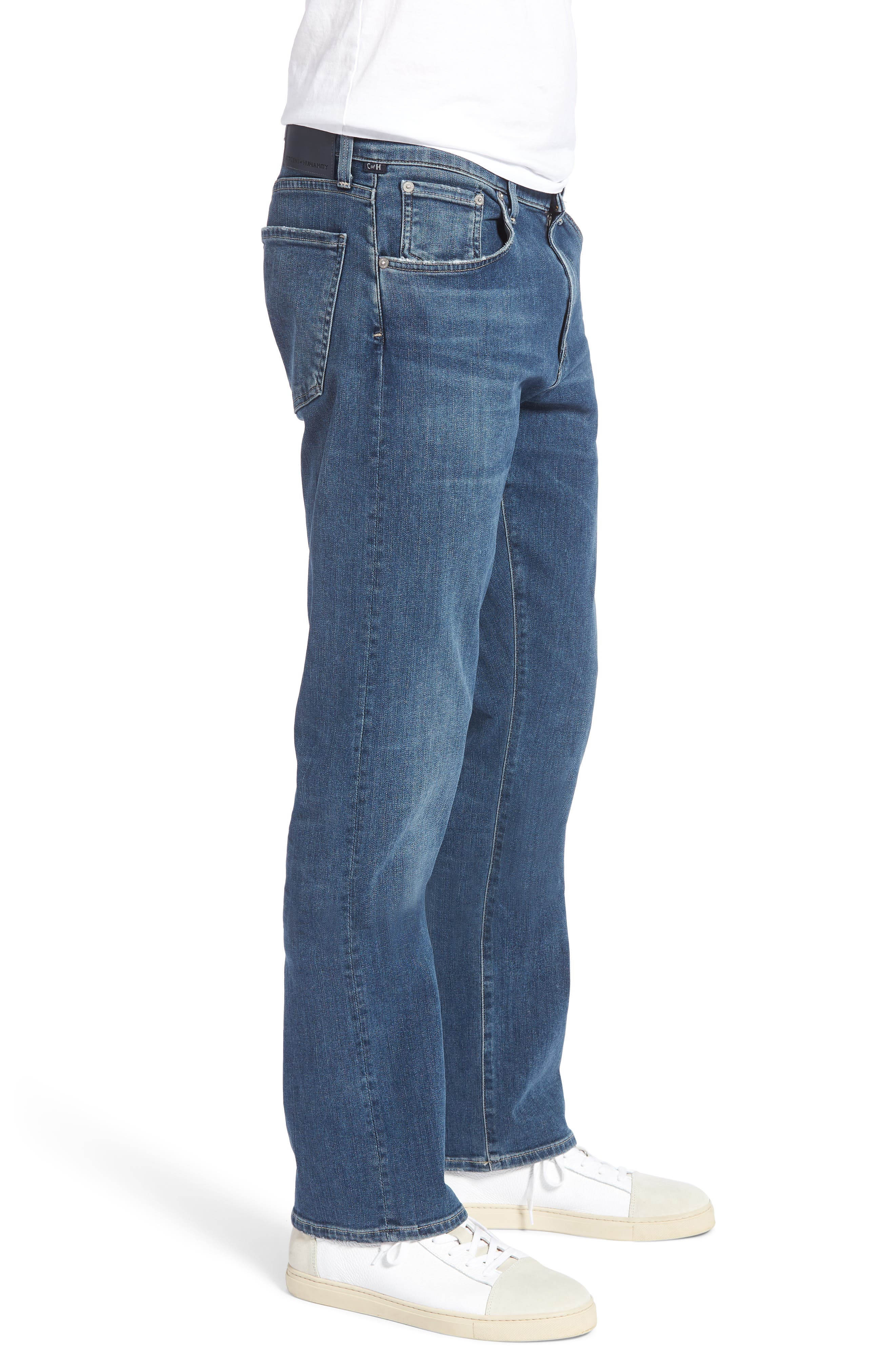Gage Slim Straight Fit Jeans,                             Alternate thumbnail 3, color,                             427