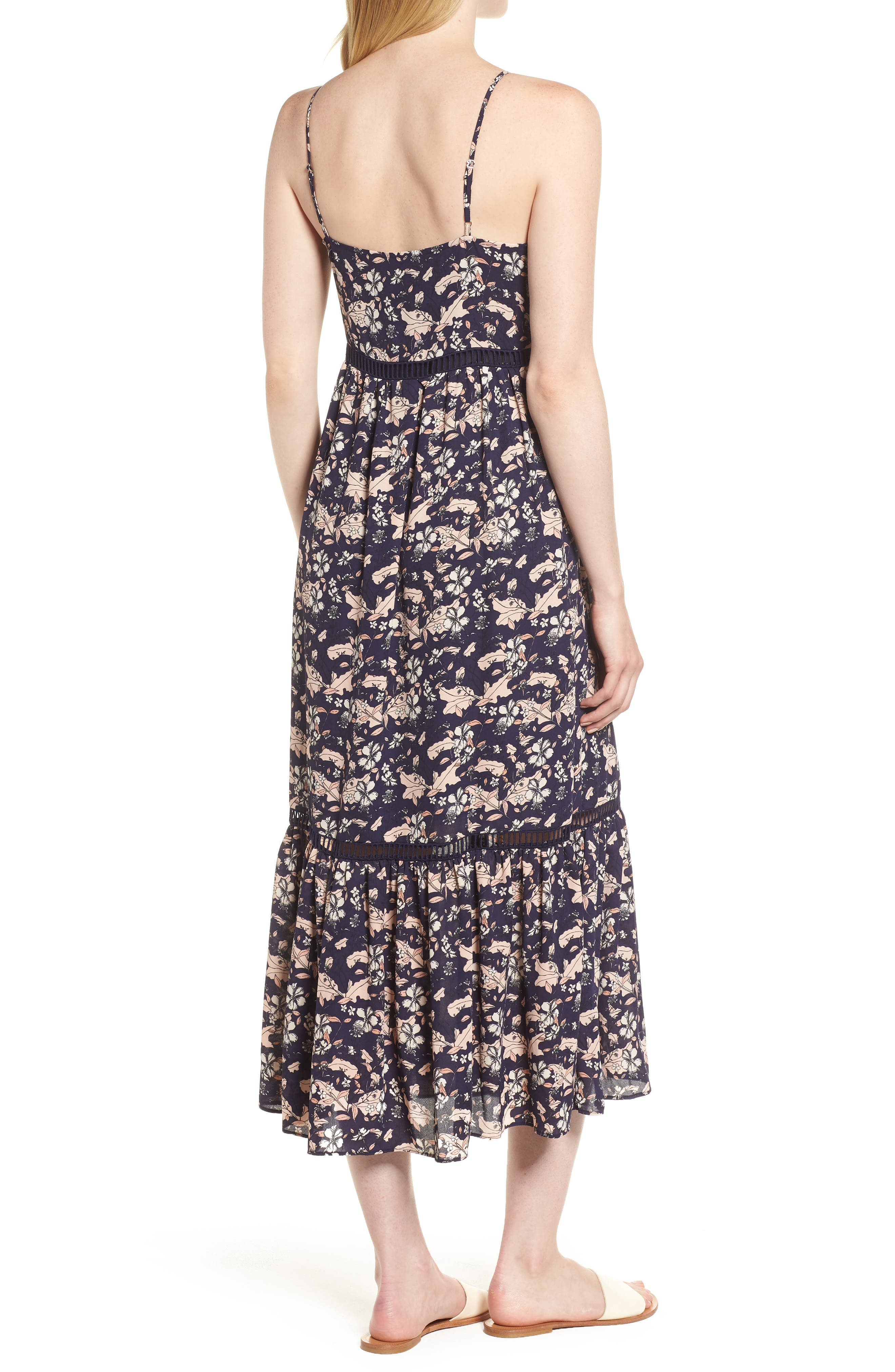 Ivy Forest Maxi Dress,                             Alternate thumbnail 7, color,